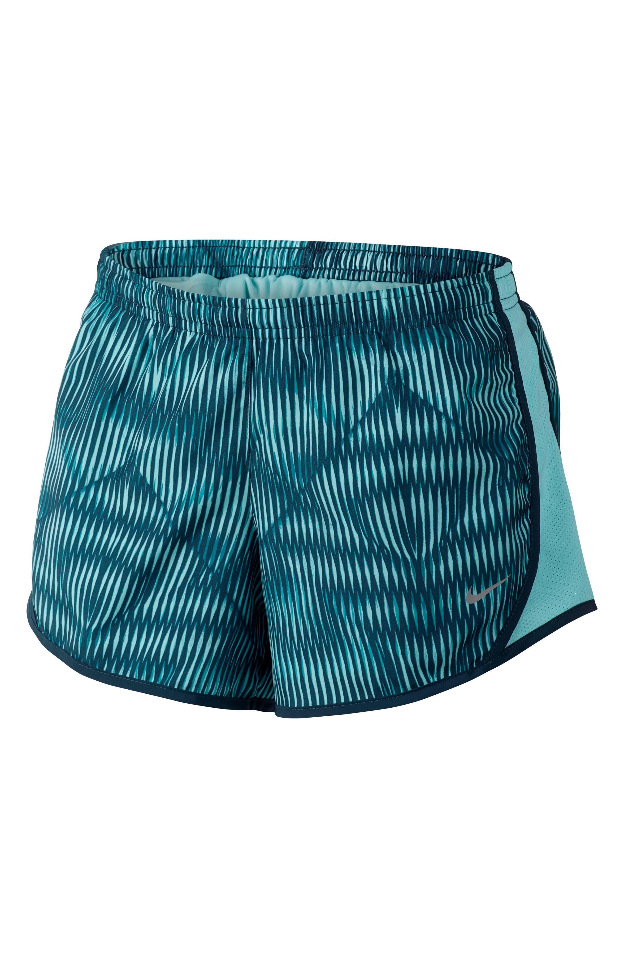 Alternate Image 1 Selected - Nike Tempo Dri-FIT Running Shorts (Big Girls)