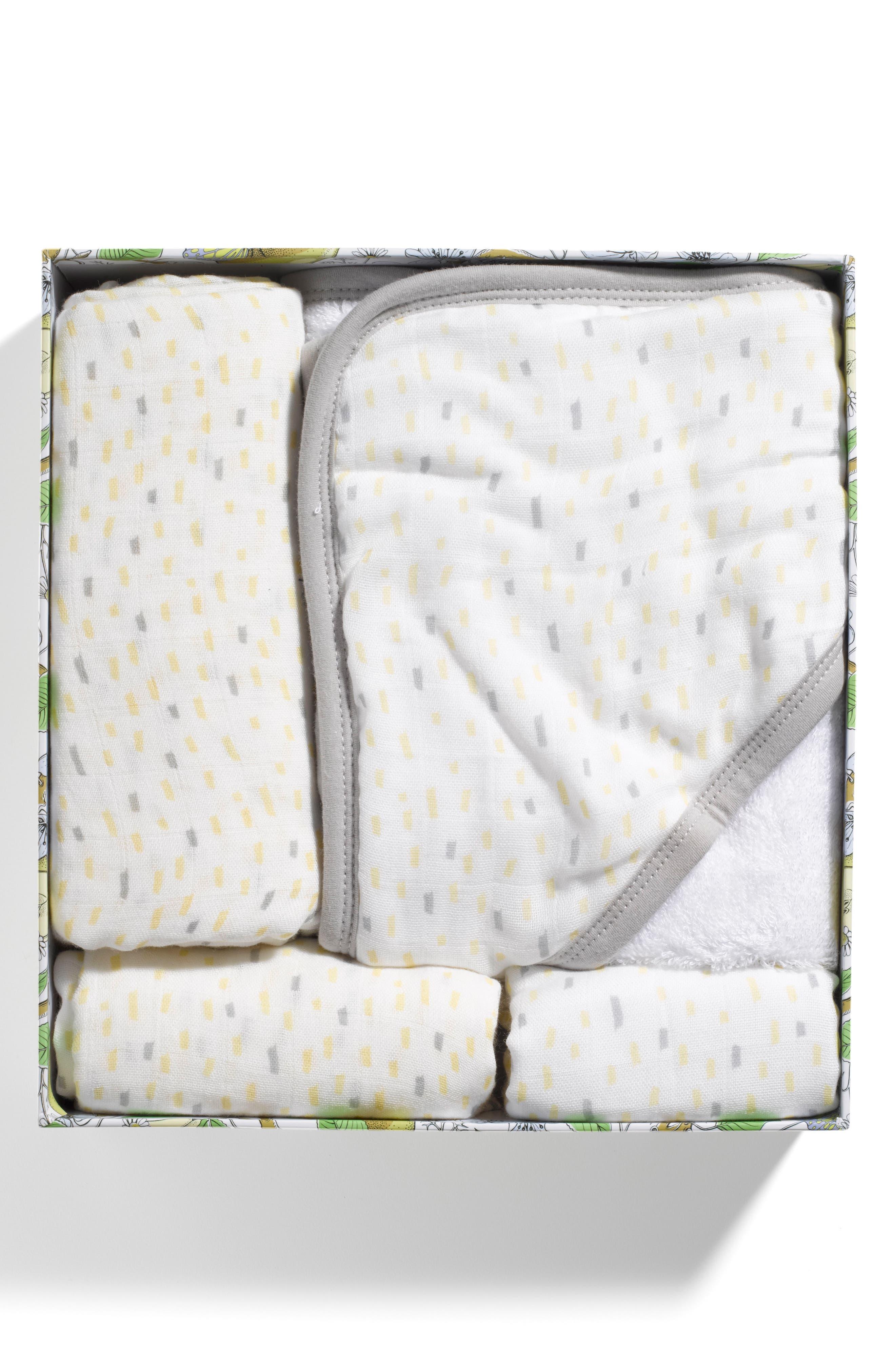 Bundle of Joy Gift Set,                             Alternate thumbnail 2, color,                             Rain Blue