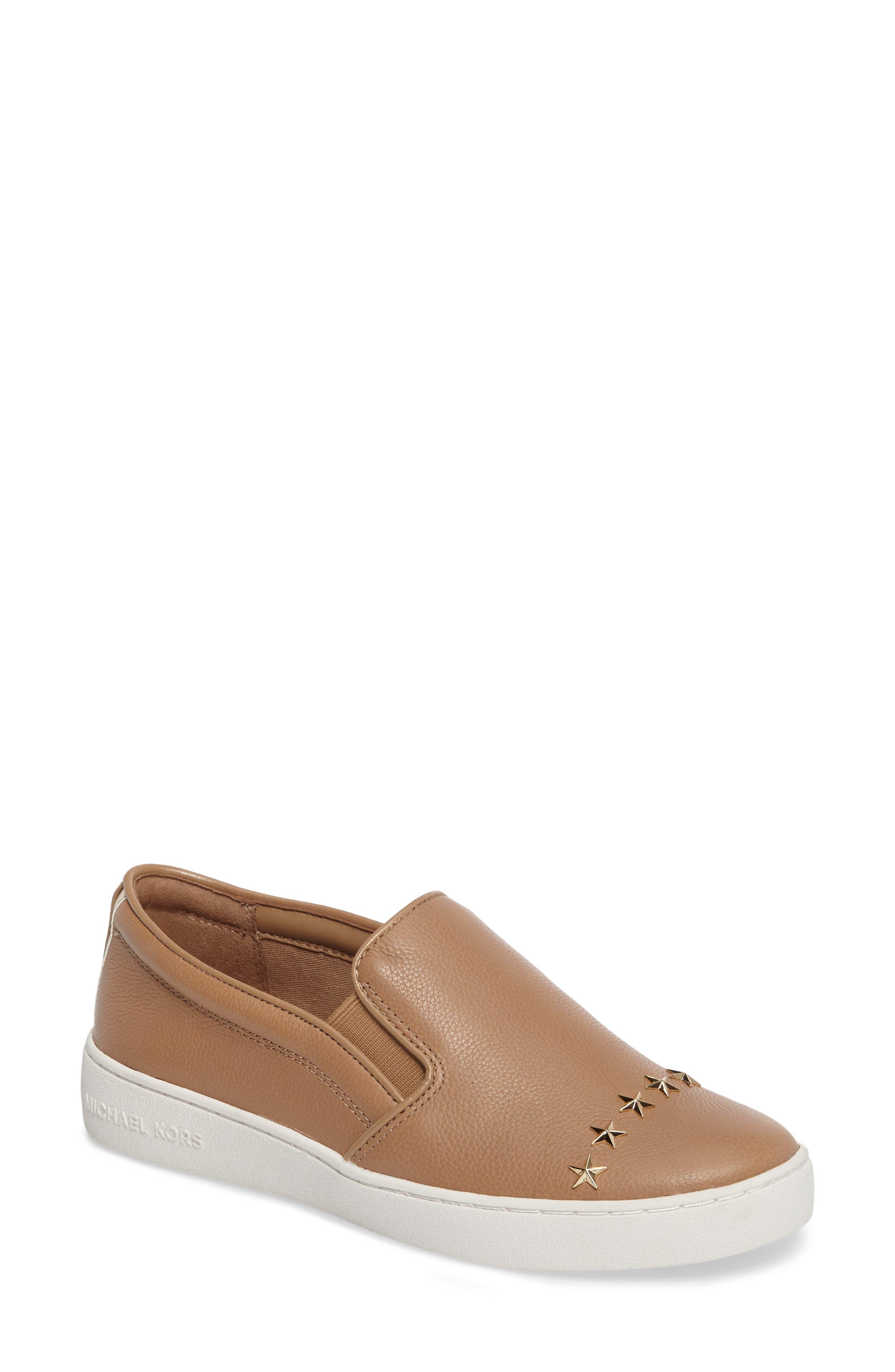 Keaton Slip-On Sneaker,                         Main,                         color, Dark Khaki Star Stud