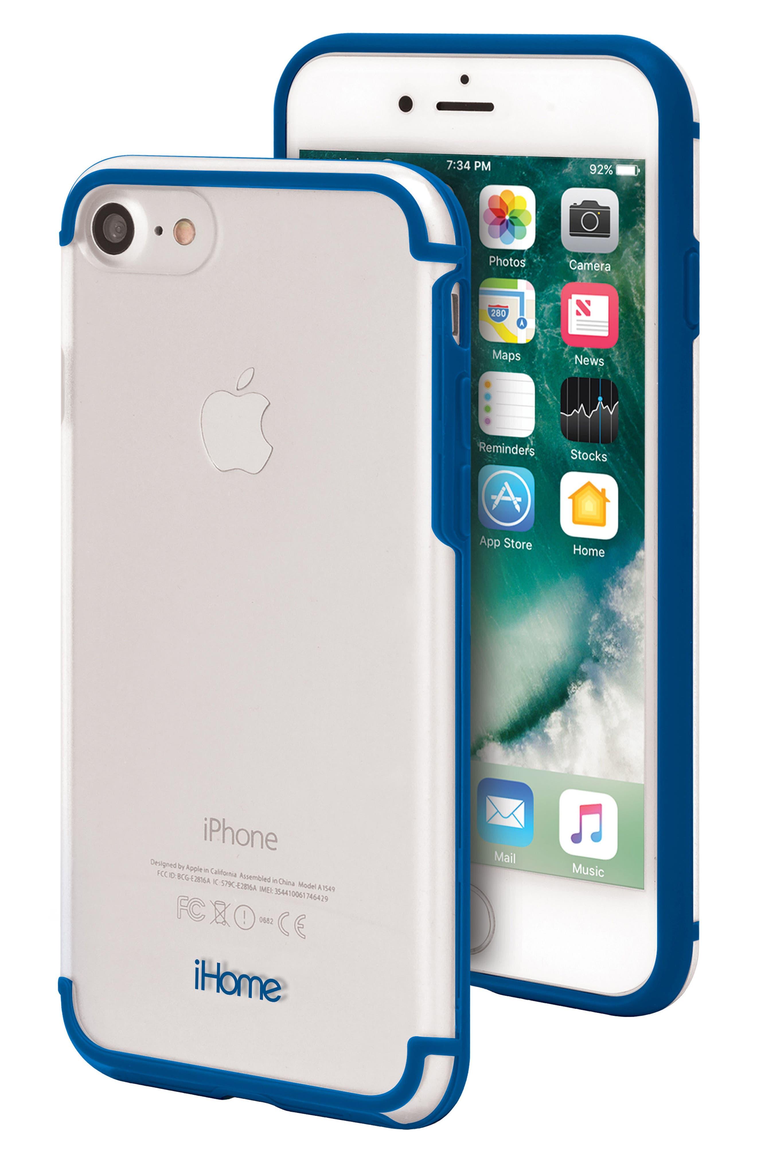Alternate Image 1 Selected - iHome Sheer 2.0 iPhone 7/8 Case