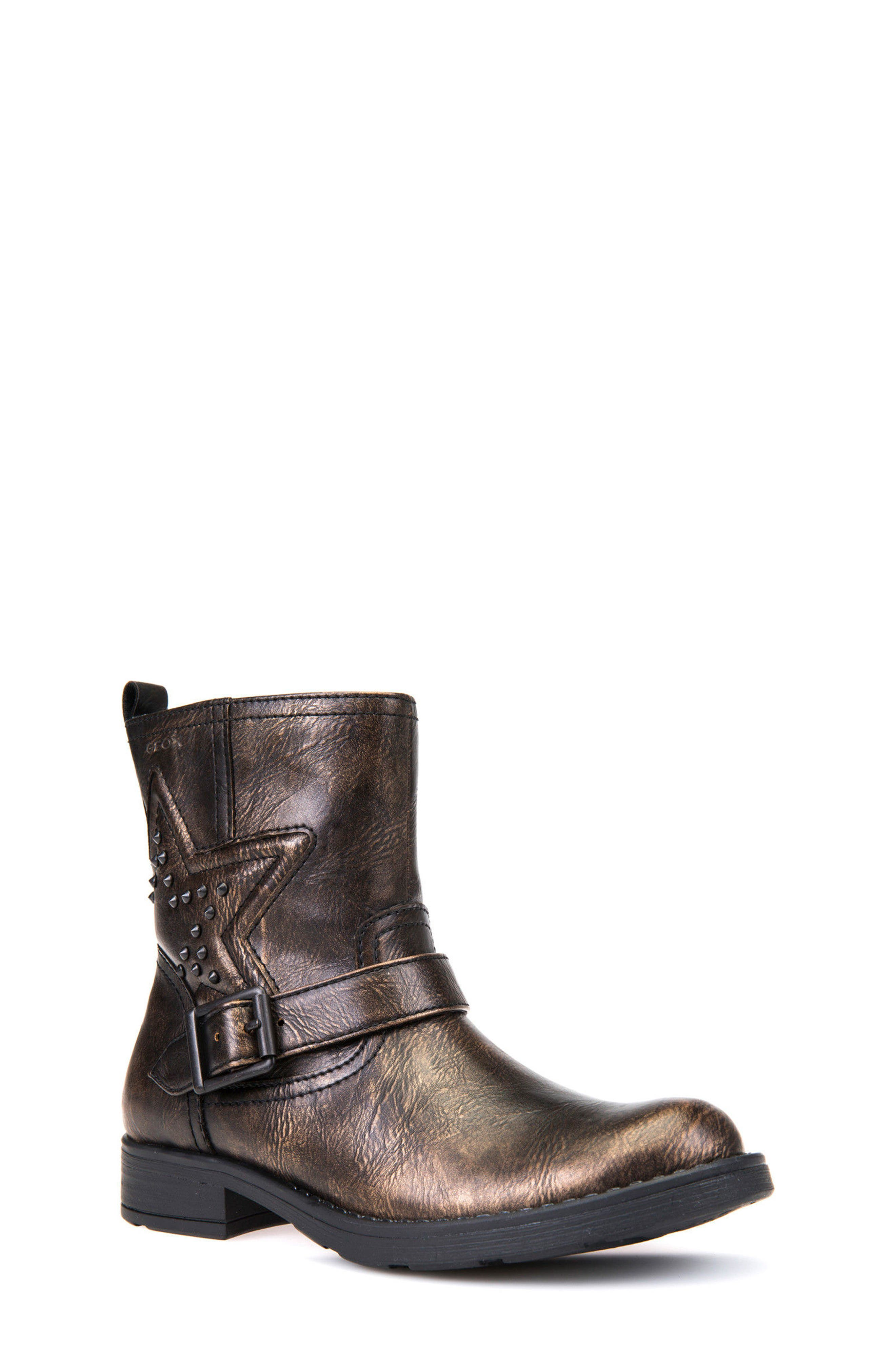 Alternate Image 1 Selected - Geox Sofia Boot (Toddler, Little Kid & Big Kid)