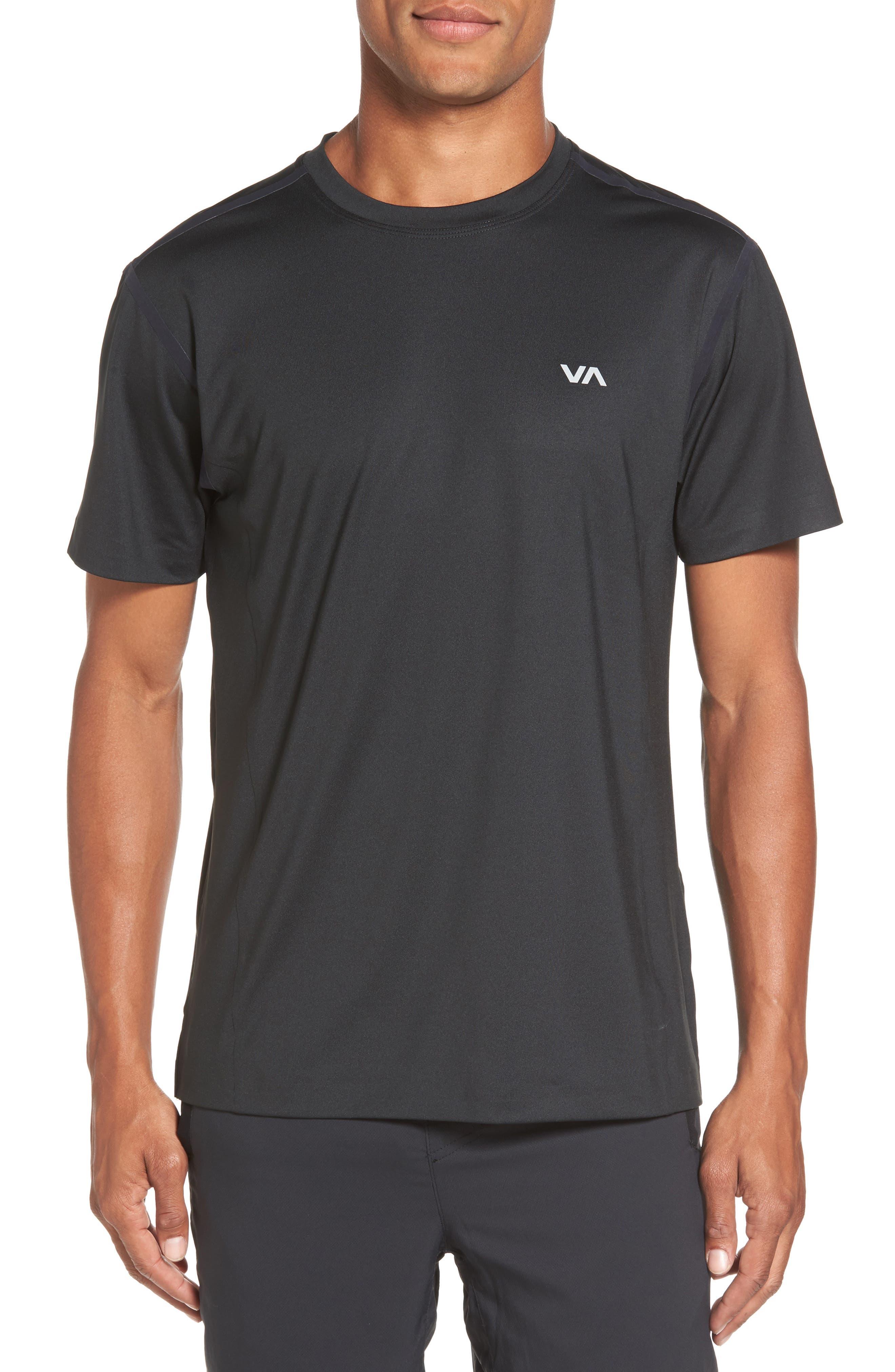 VA Compression T-Shirt,                         Main,                         color, Black