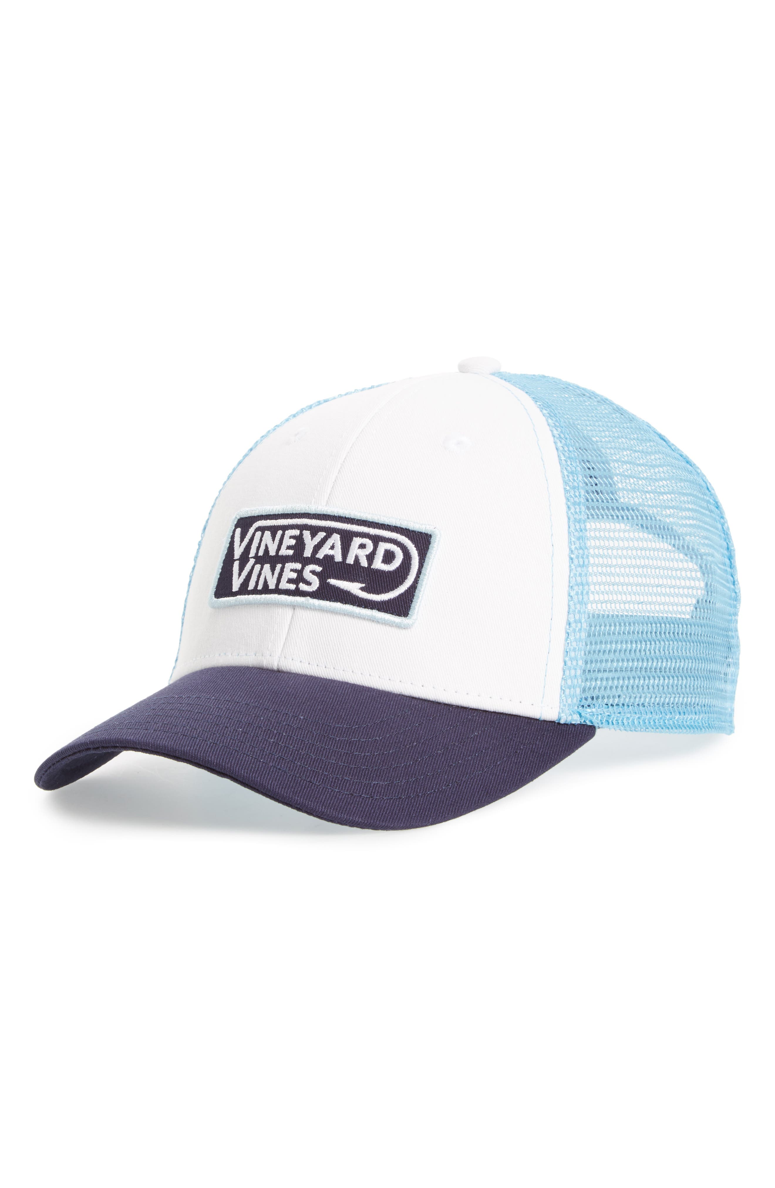 Vineyard Vines Hook Patch Trucker Cap