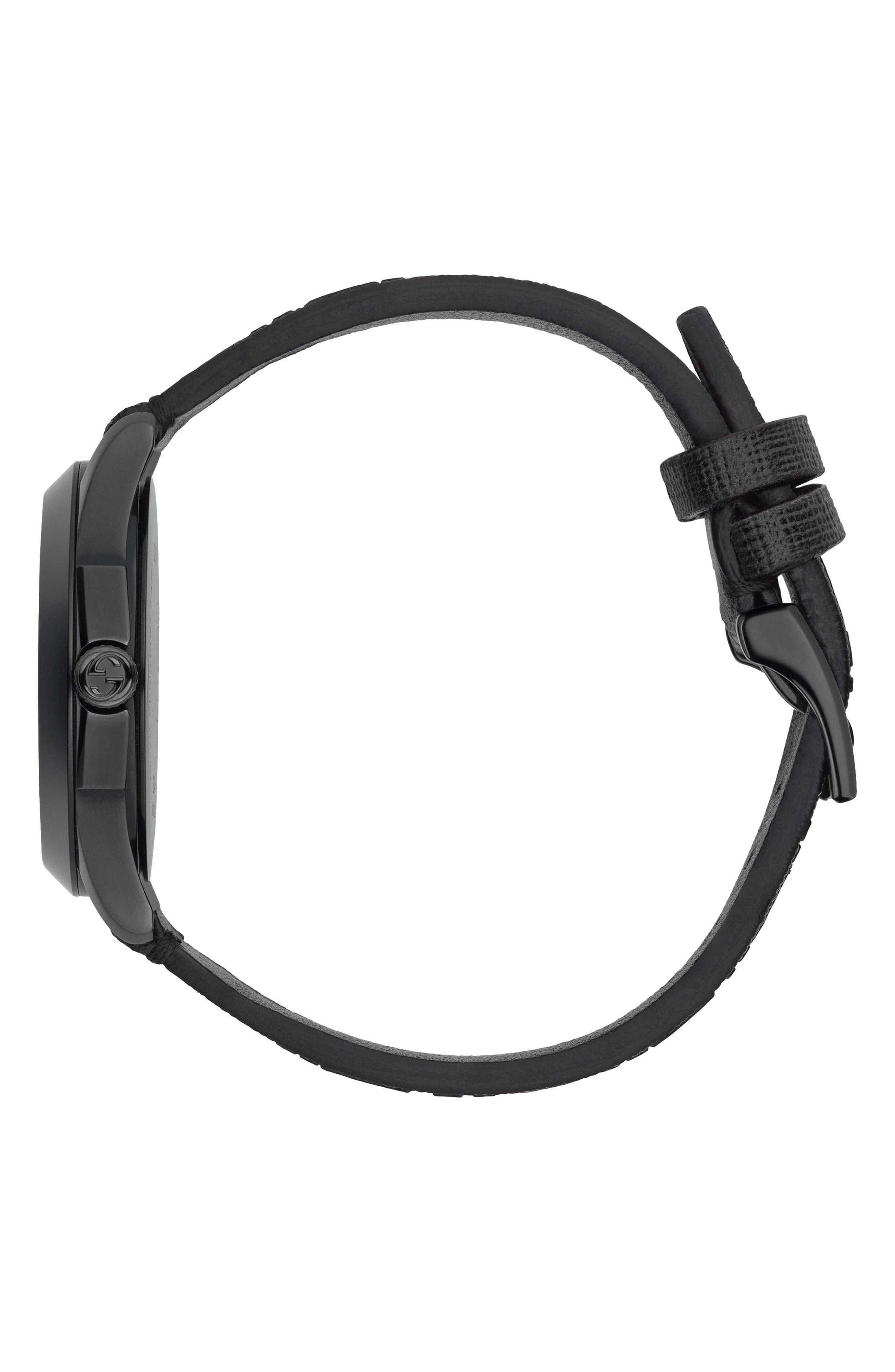 Alternate Image 3  - Gucci GG Rubber Strap Watch, 38mm