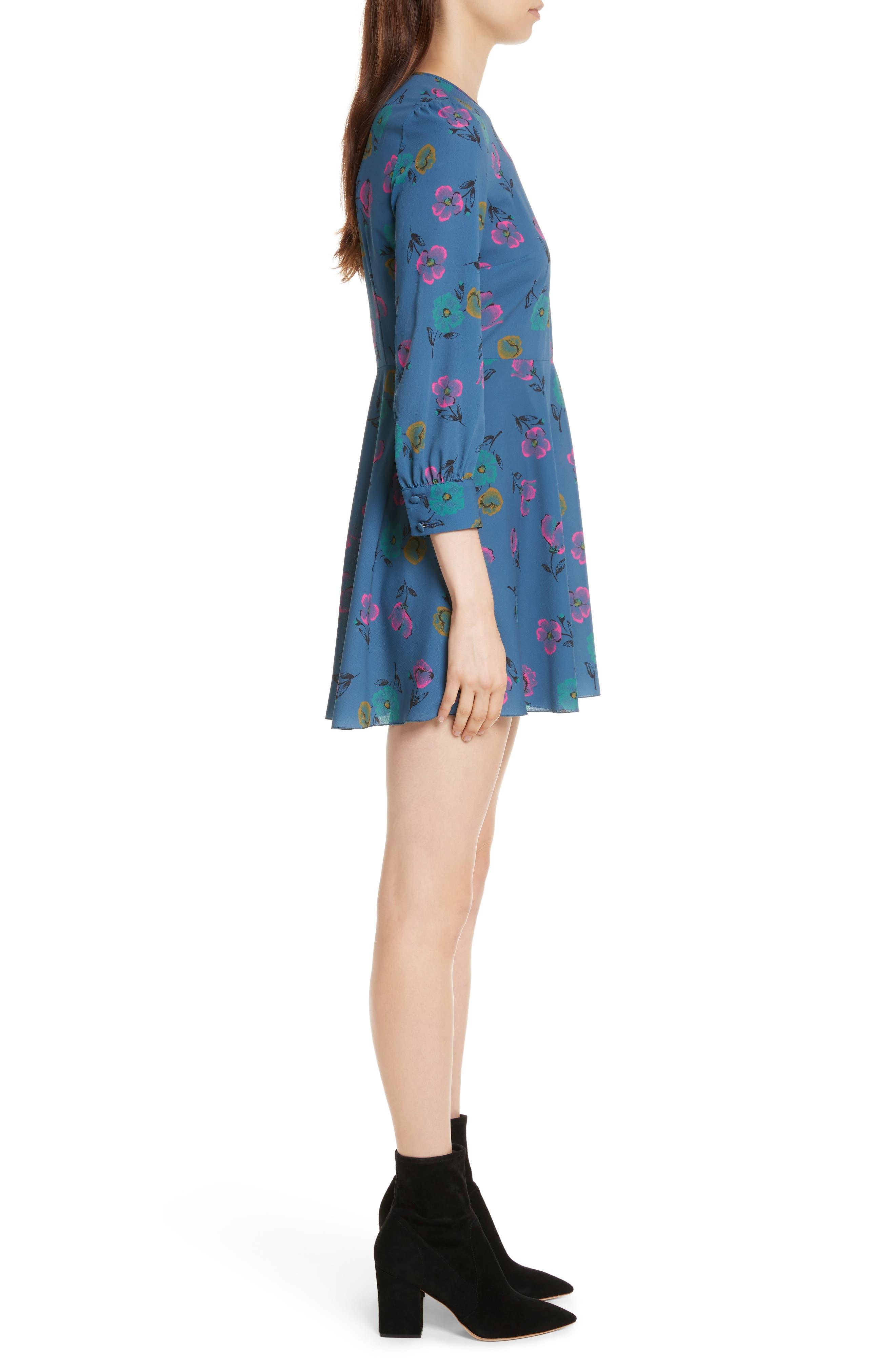 Alternate Image 3  - RED Valentino Anemone Floral Print Crepe Dress
