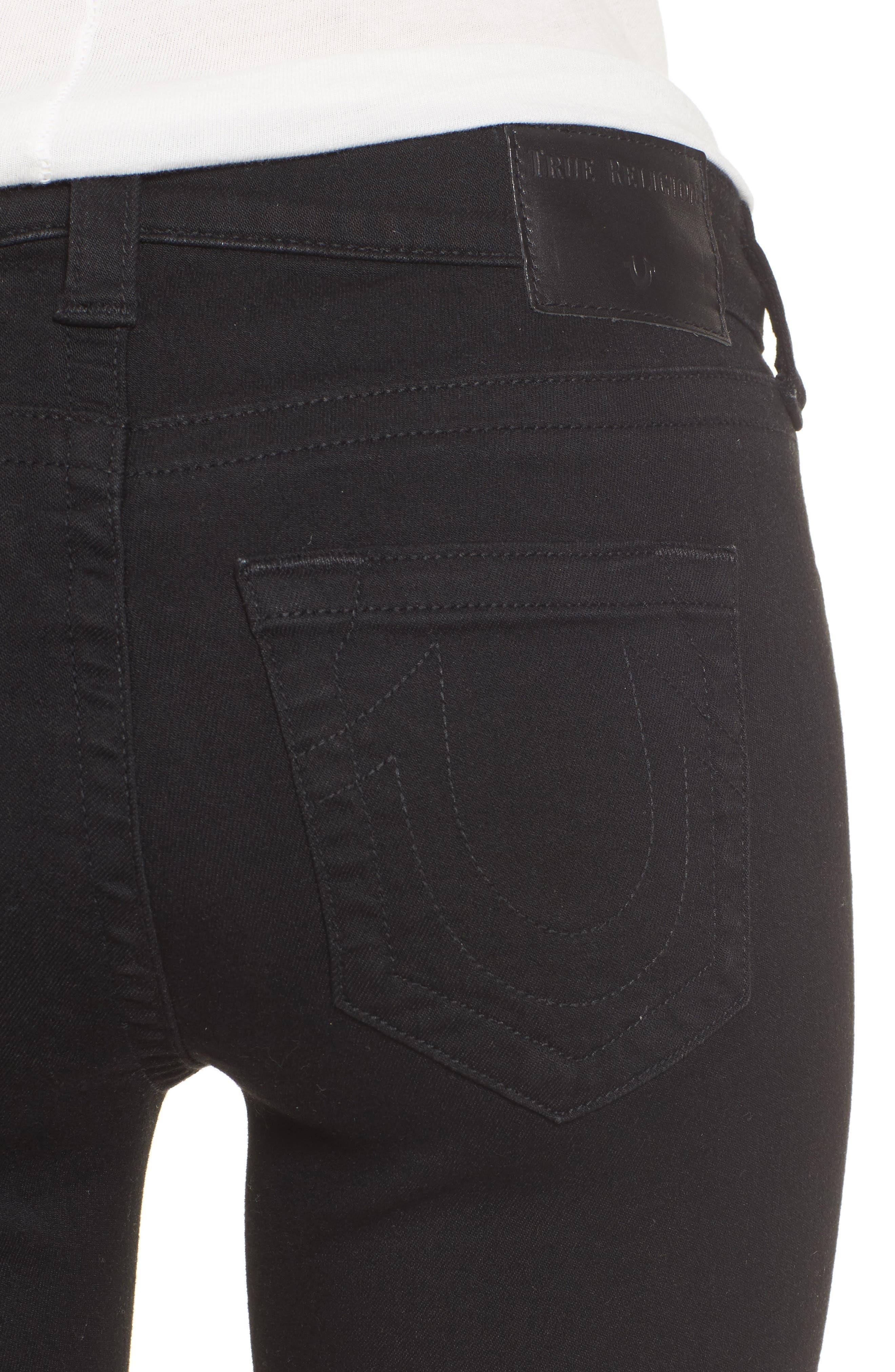 Jennie Curvy Skinny Jeans,                             Alternate thumbnail 3, color,                             Way Back Black