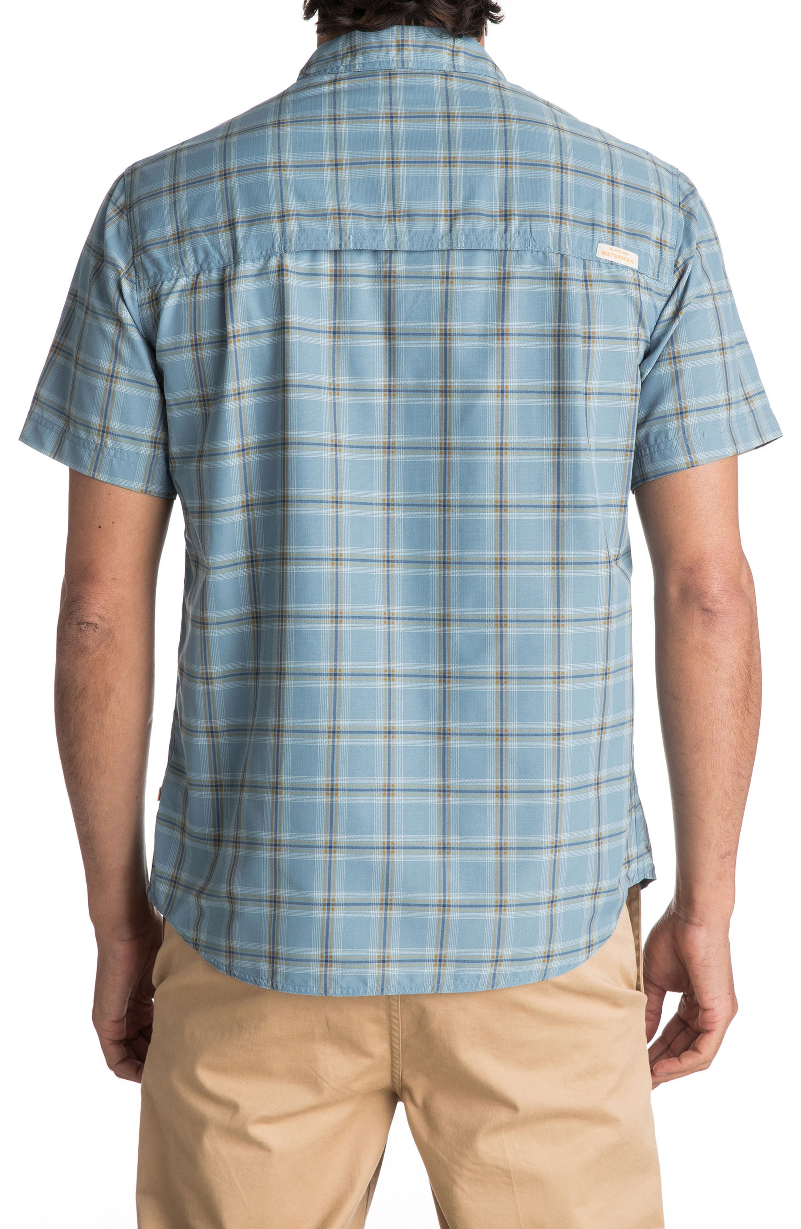Alternate Image 2  - Quiksilver Waterman Collection Wake Sport Shirt