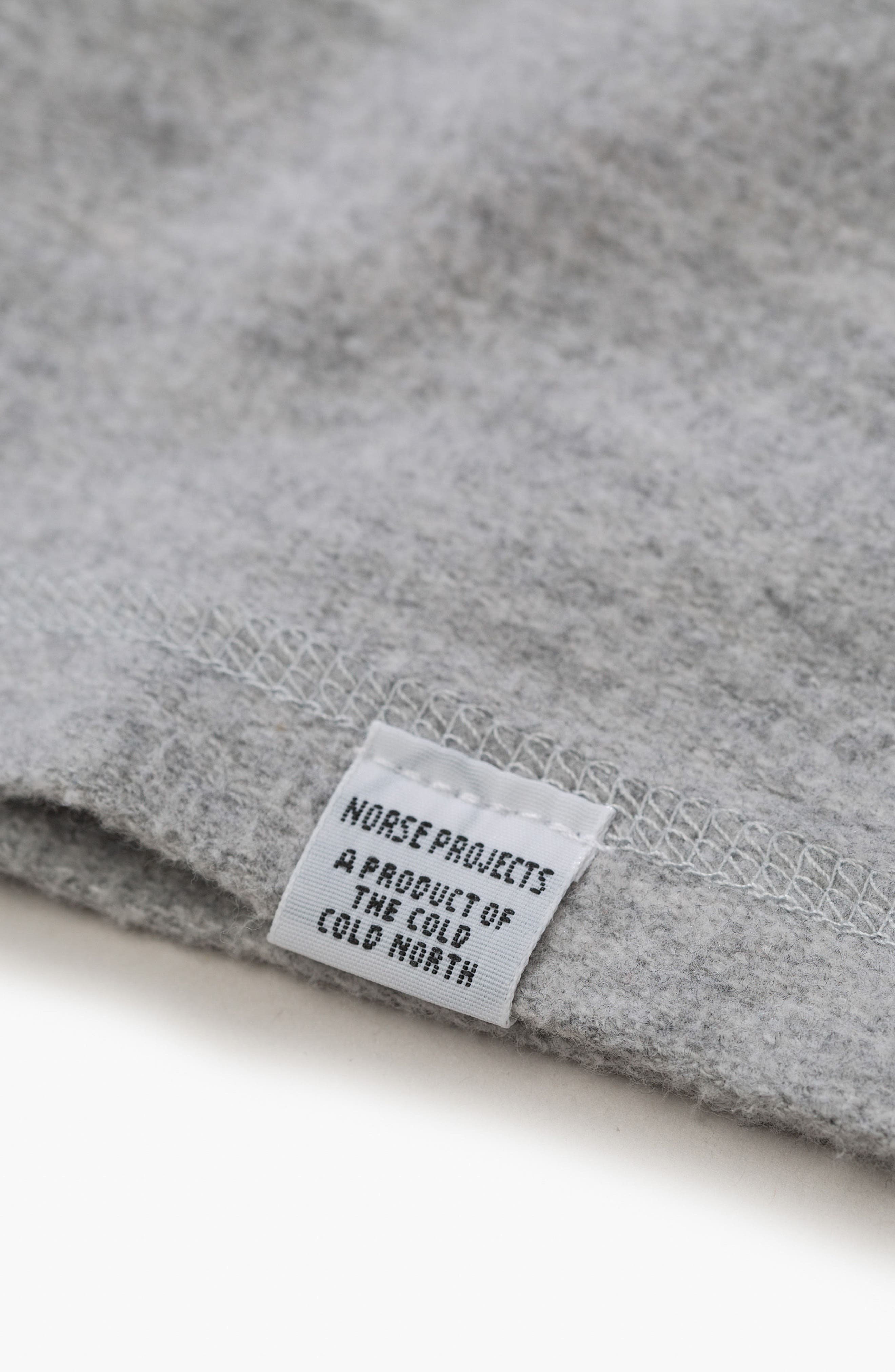Victor Brushed Cotton T-Shirt,                             Alternate thumbnail 6, color,                             Light Grey