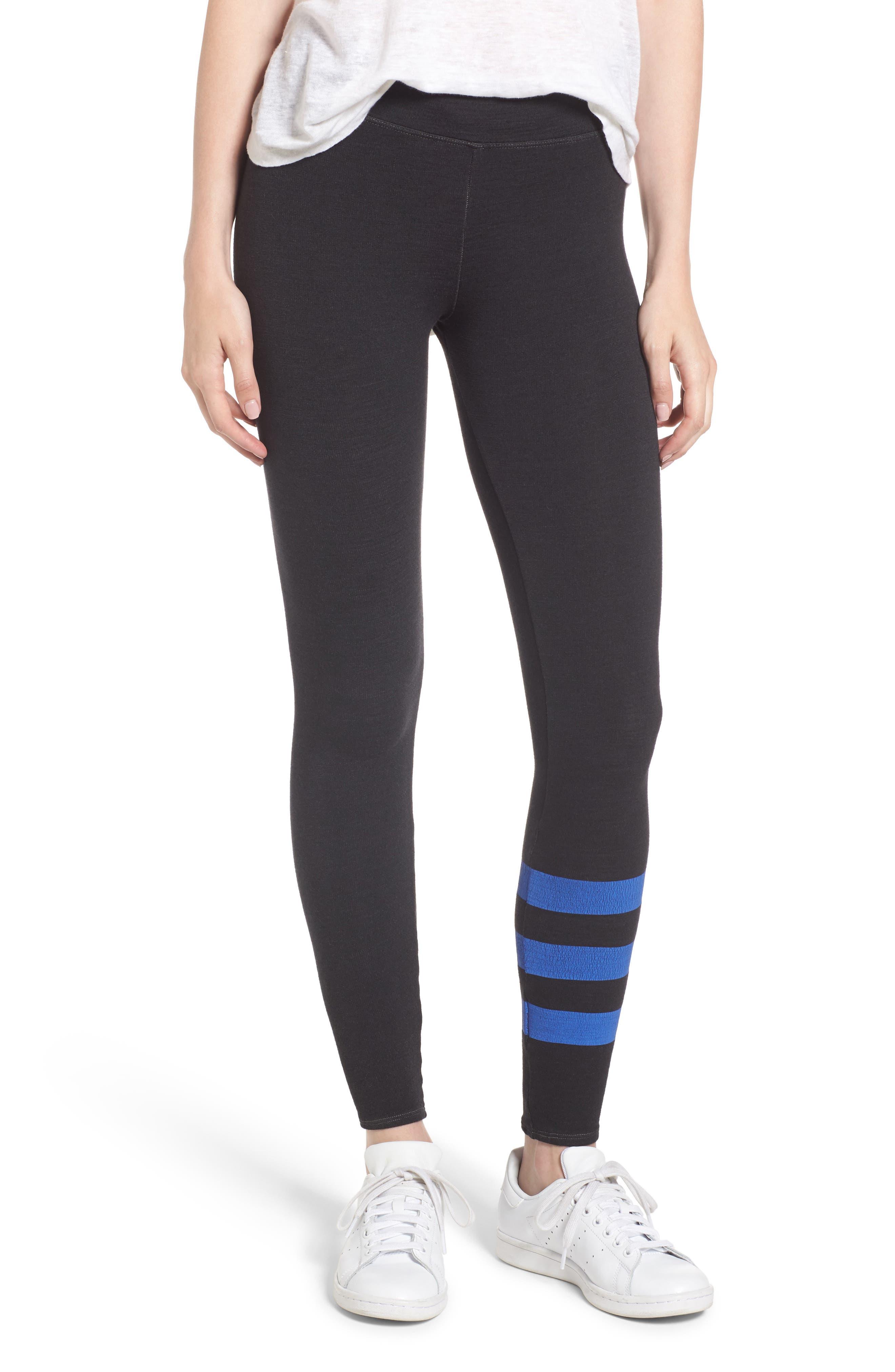 Sundry Stripe Skinny Sweatpants