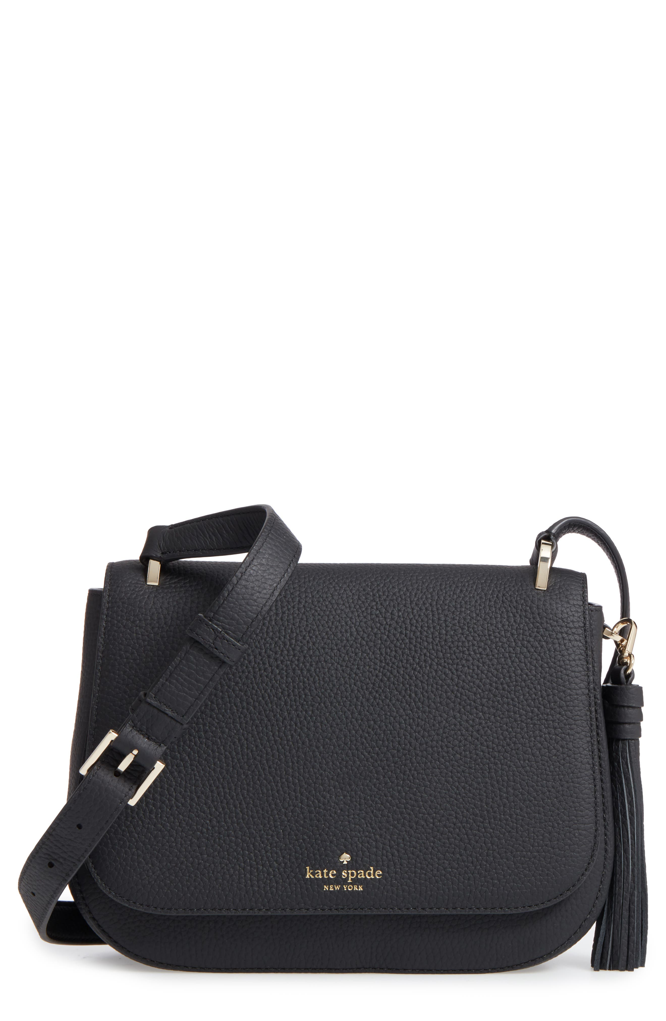Alternate Image 1 Selected - kate spade new york daniels drive - tressa leather crossbody bag