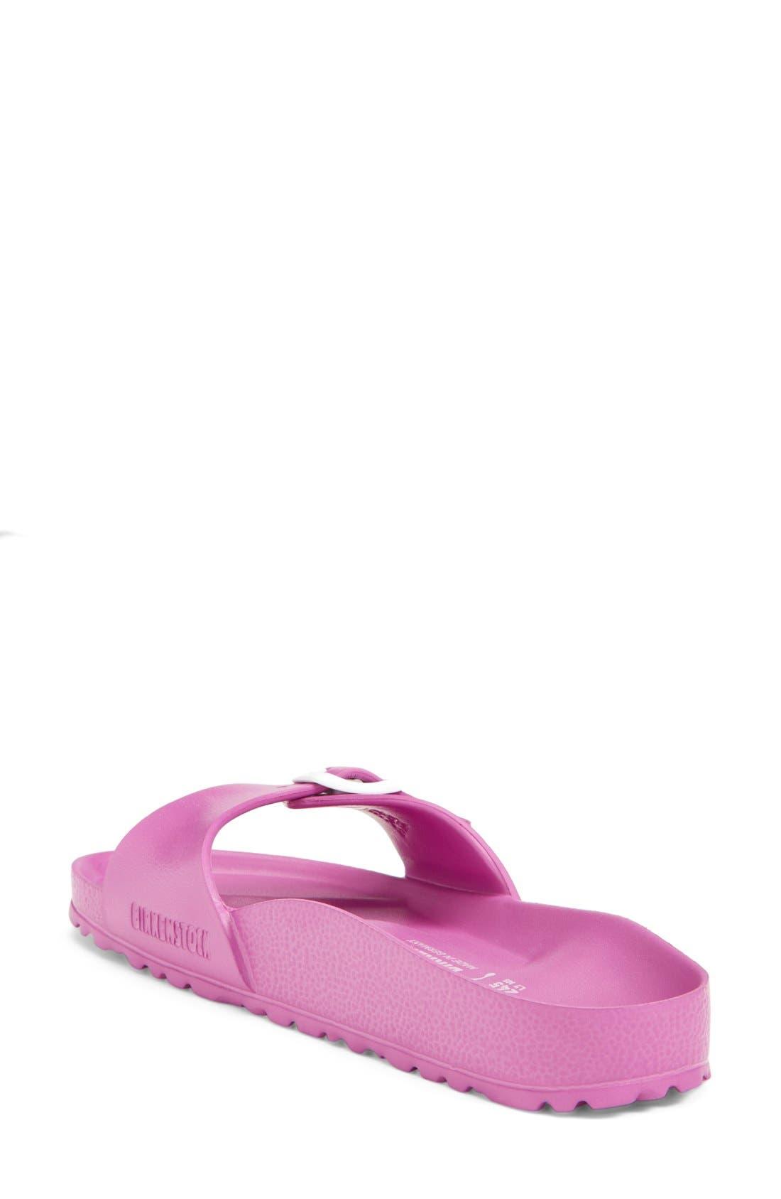'Essentials - Madrid' Slide Sandal,                             Alternate thumbnail 2, color,                             Pink