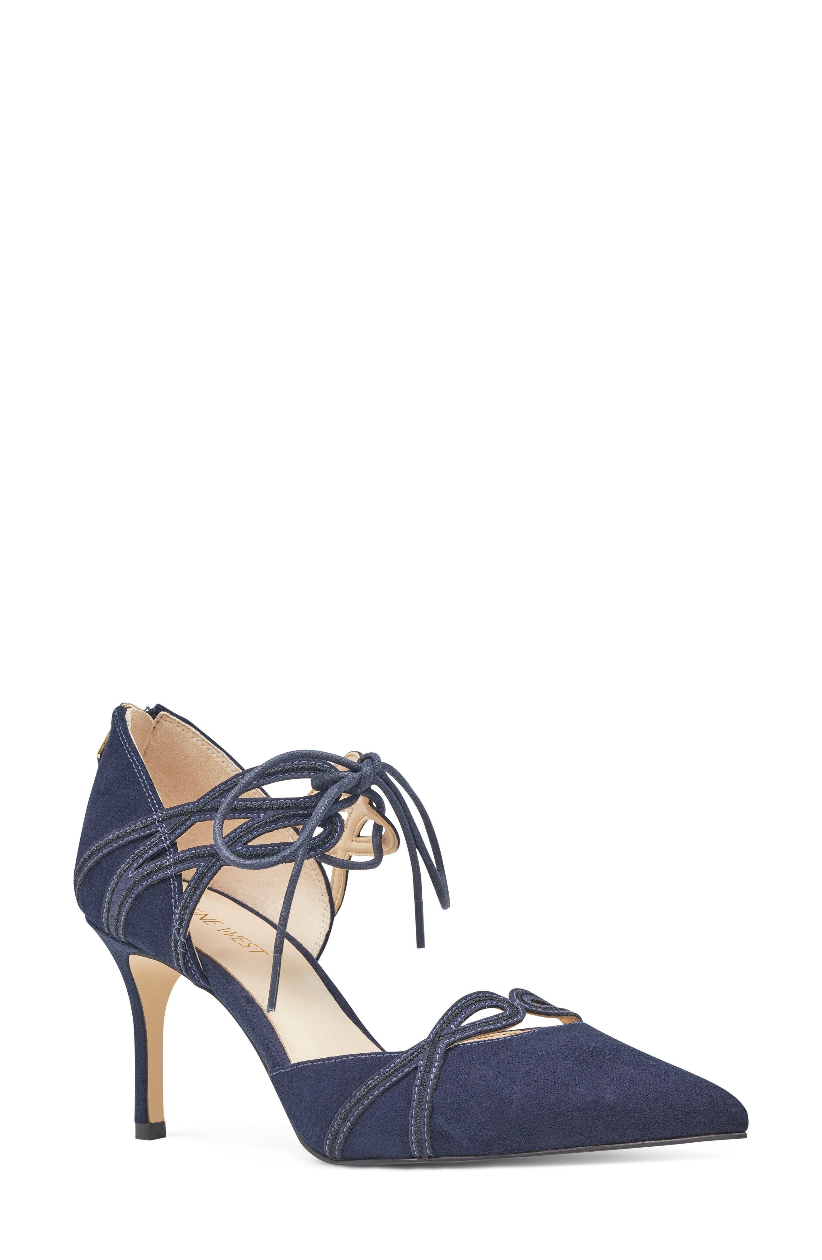 Nine West Mayeff Ankle Tie Pump (Women)