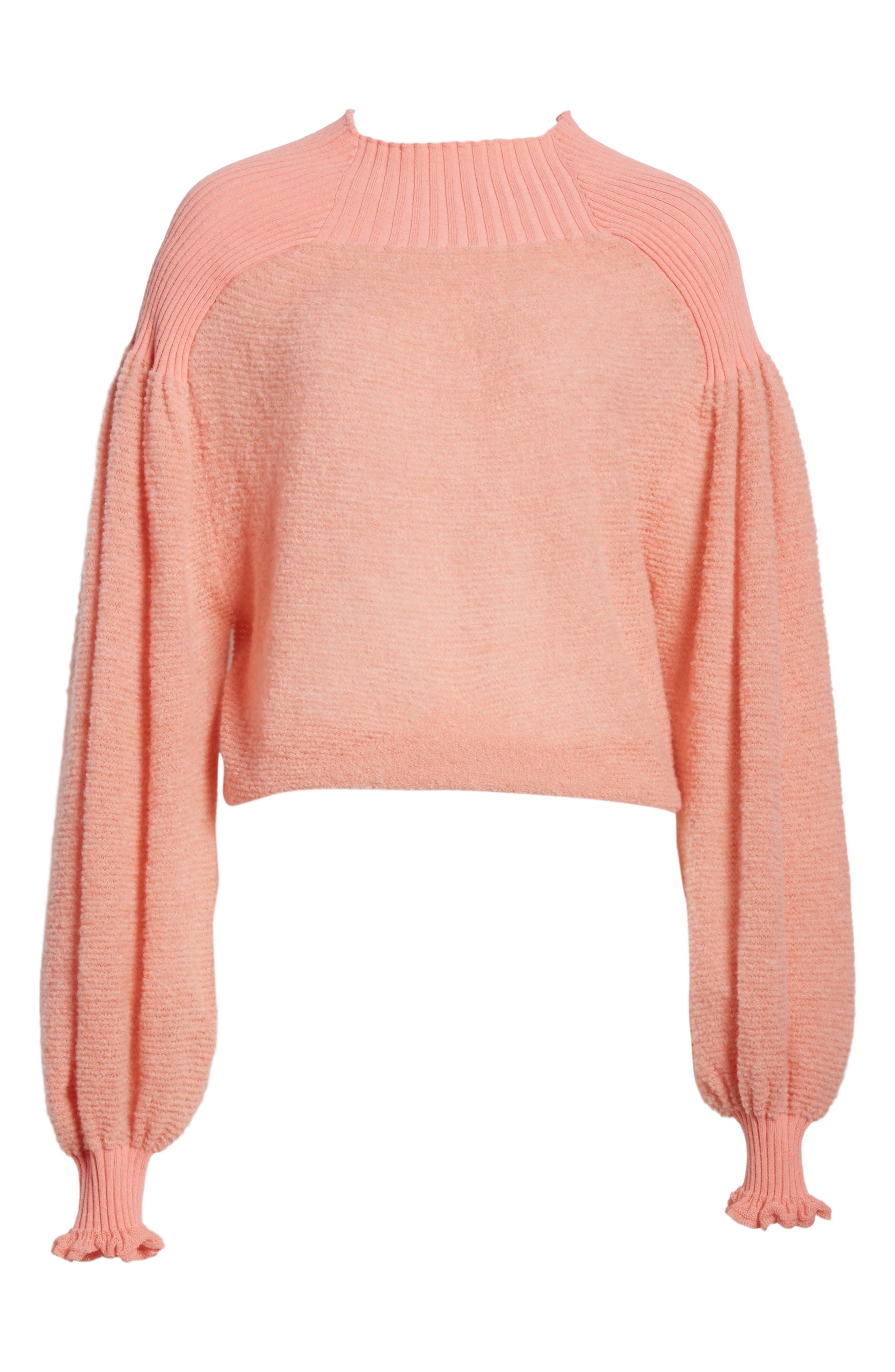 Alternate Image 6  - Free People Elderflower Sweater
