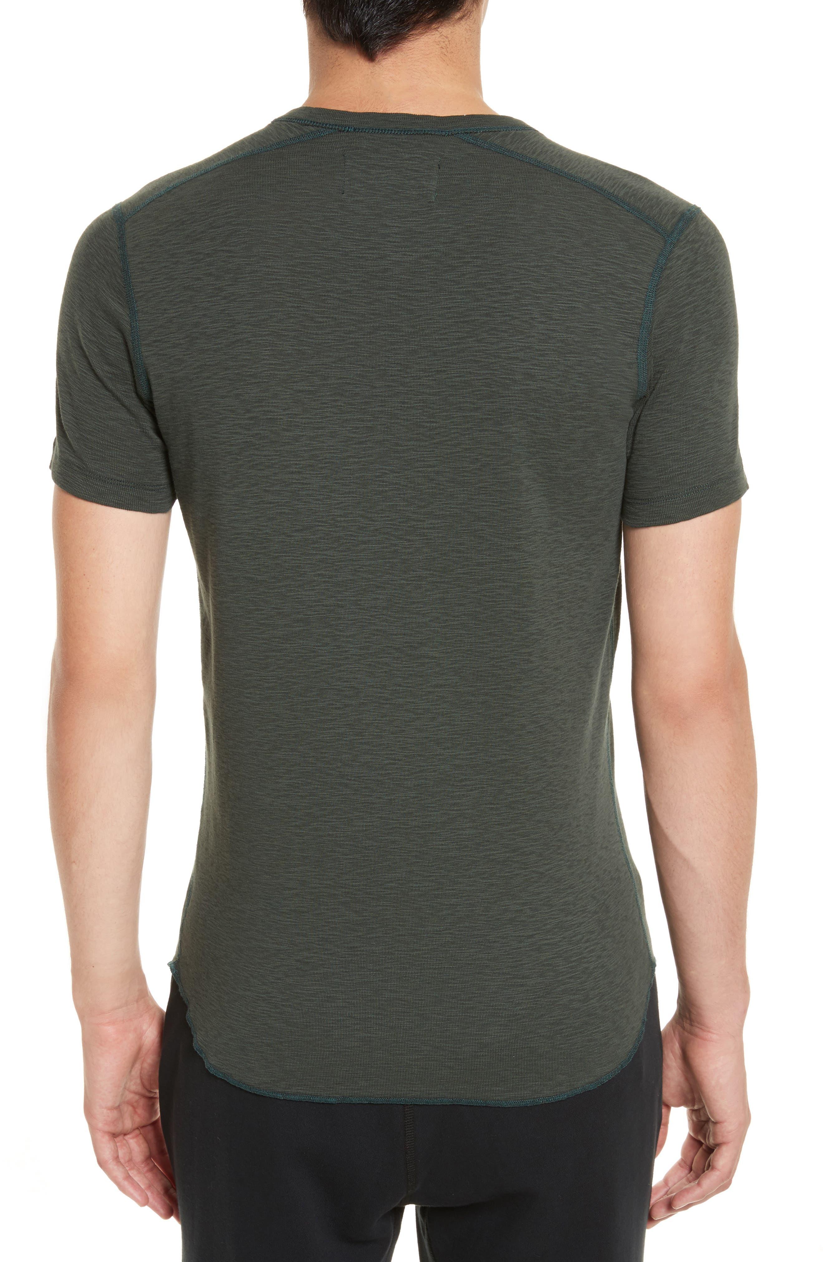 Alternate Image 2  - wings + horns Ribbed Slub Cotton T-Shirt