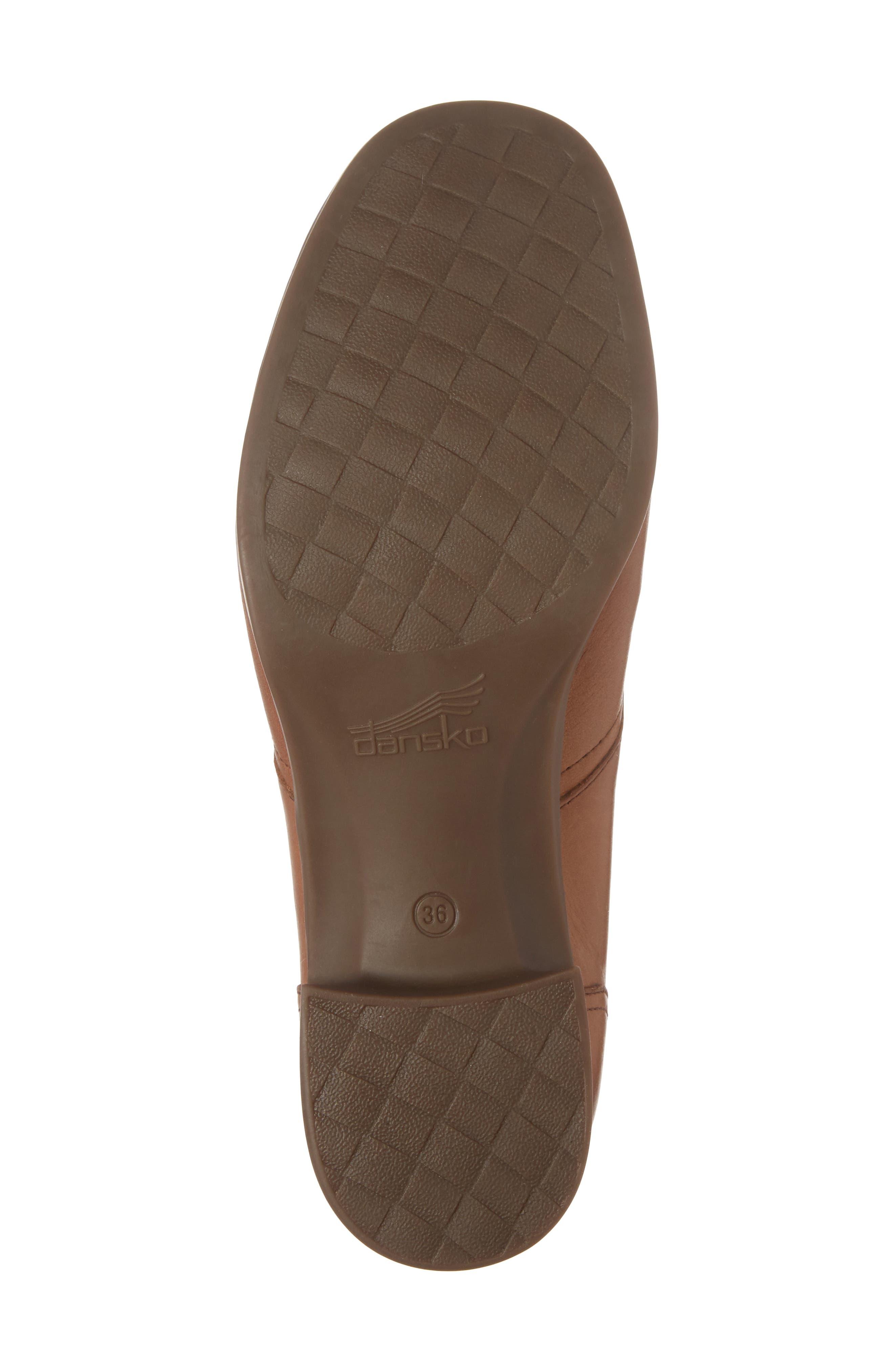 Livie Wingtip Oxford,                             Alternate thumbnail 6, color,                             Saddle Burnished Nappa Leather