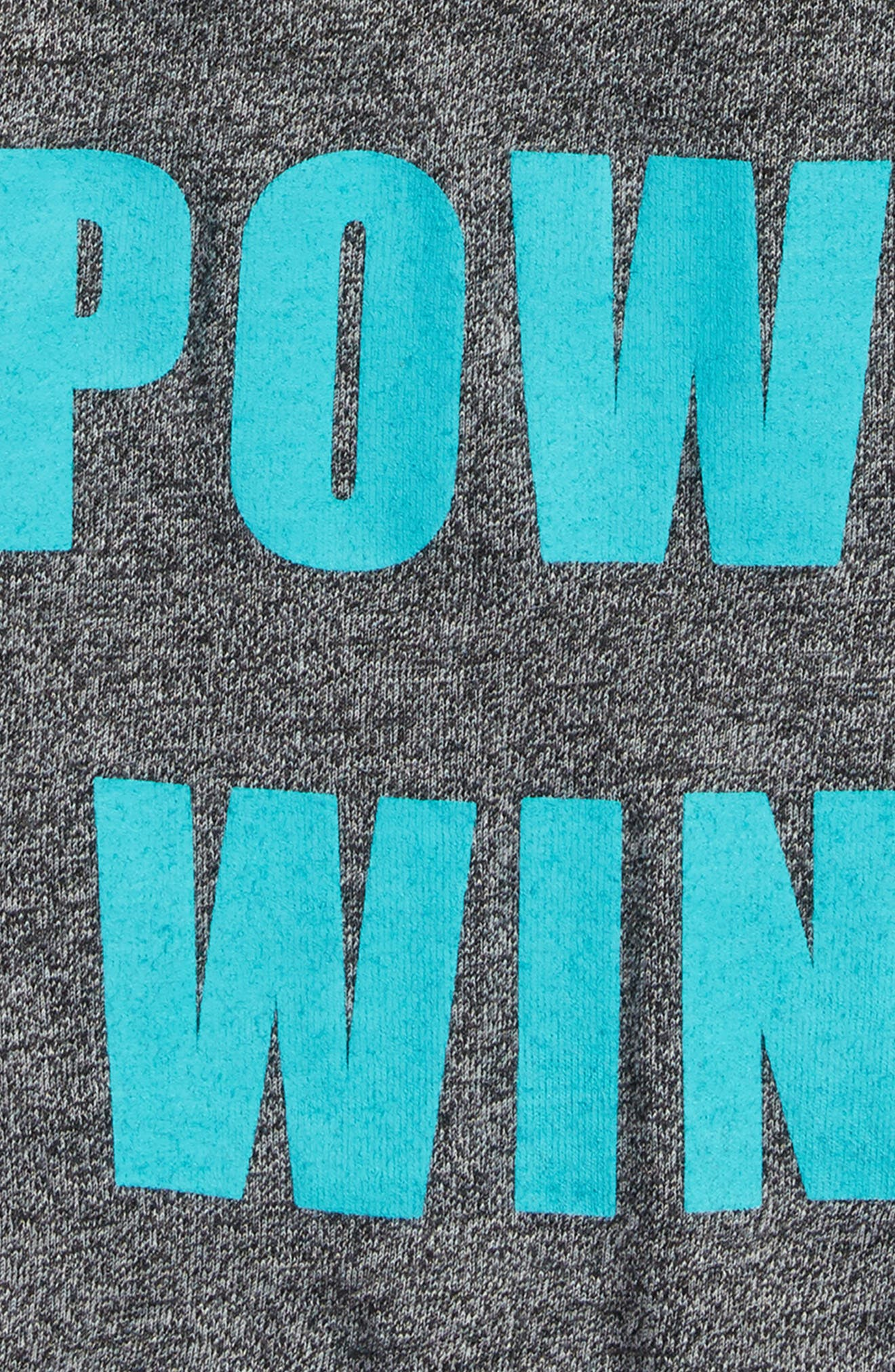 Girl Power Wins Graphic Tank,                             Alternate thumbnail 2, color,                             Gray