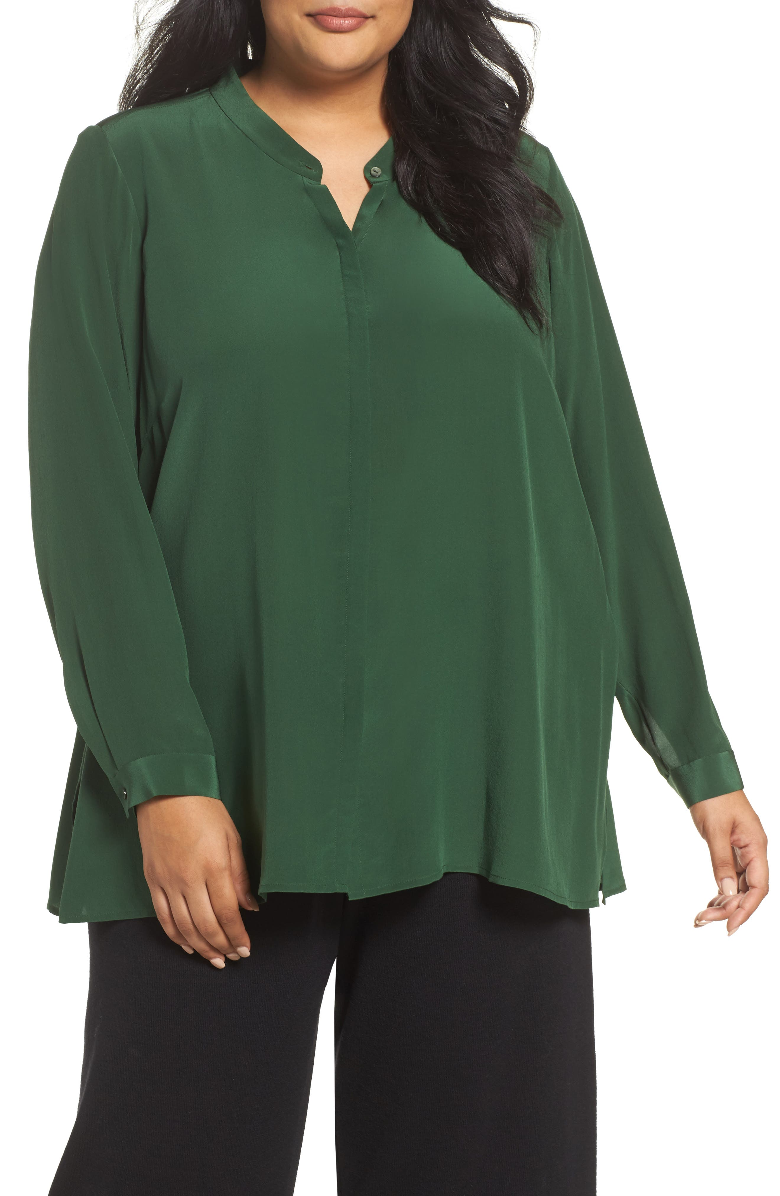 EILEEN FISHER Silk Shirt