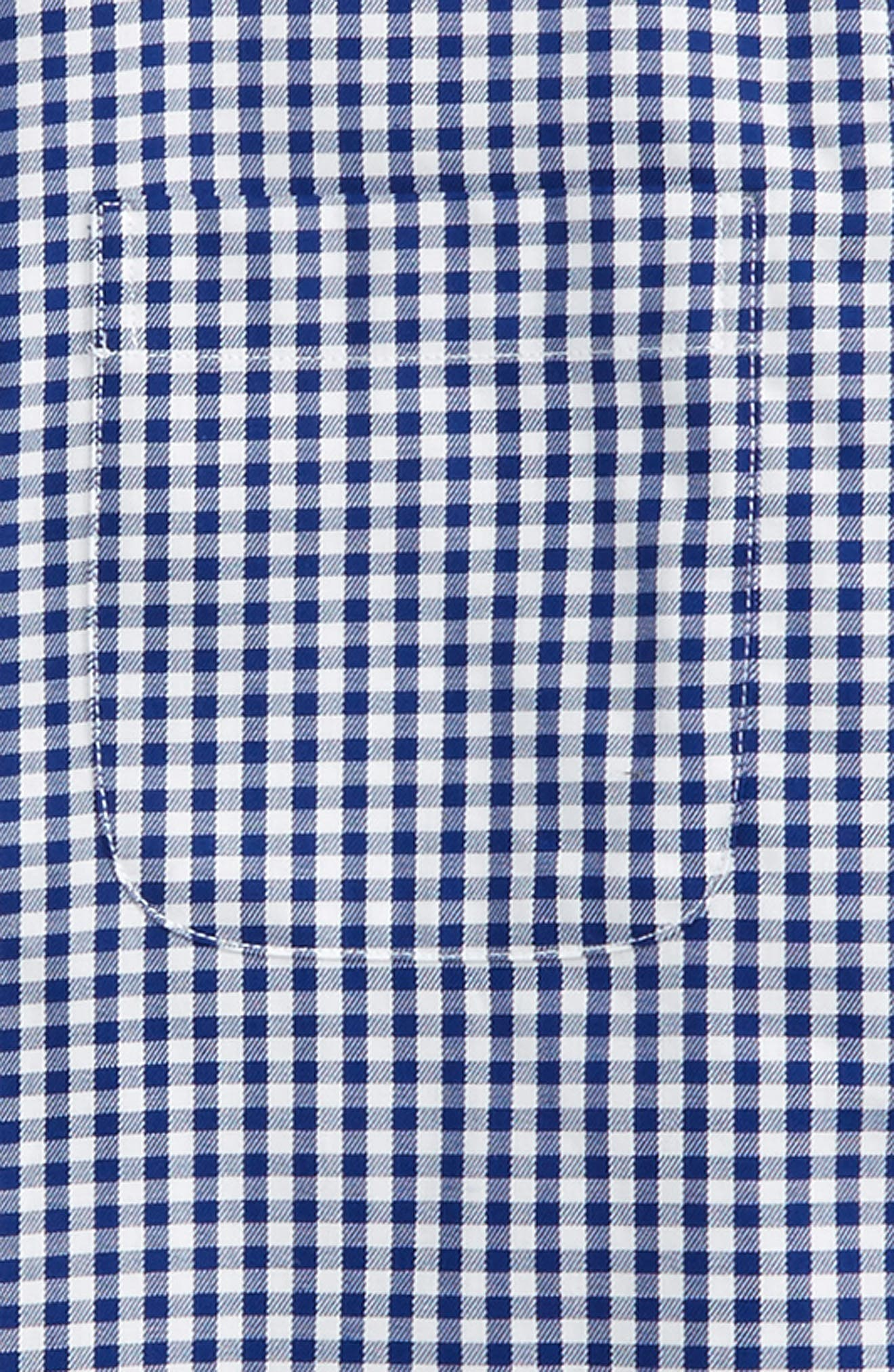 Alternate Image 2  - Nordstrom Non-Iron Check Dress Shirt (Big Boys)
