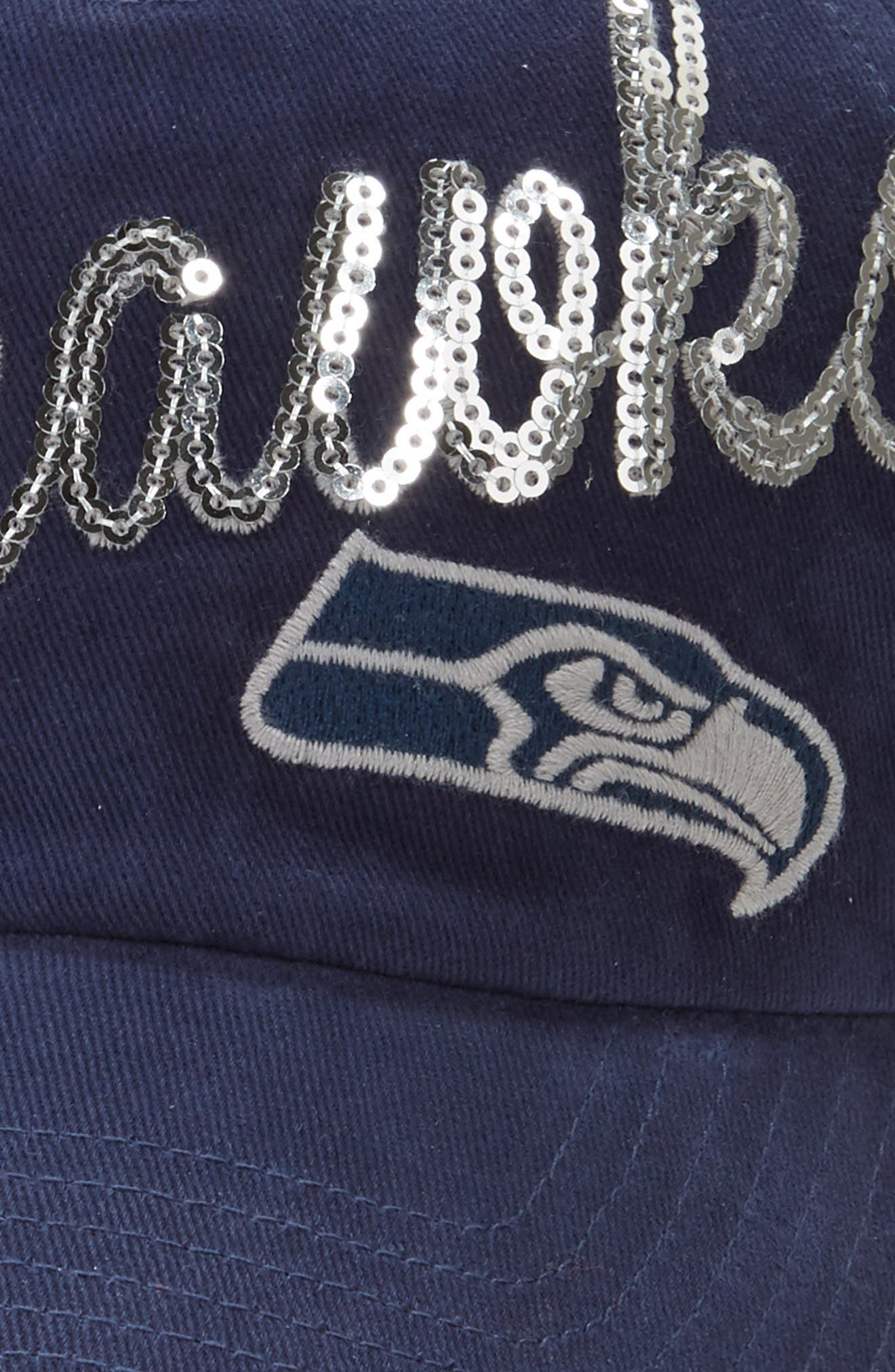 Alternate Image 3  - '47 Seattle Seahawks Sparkle Cap