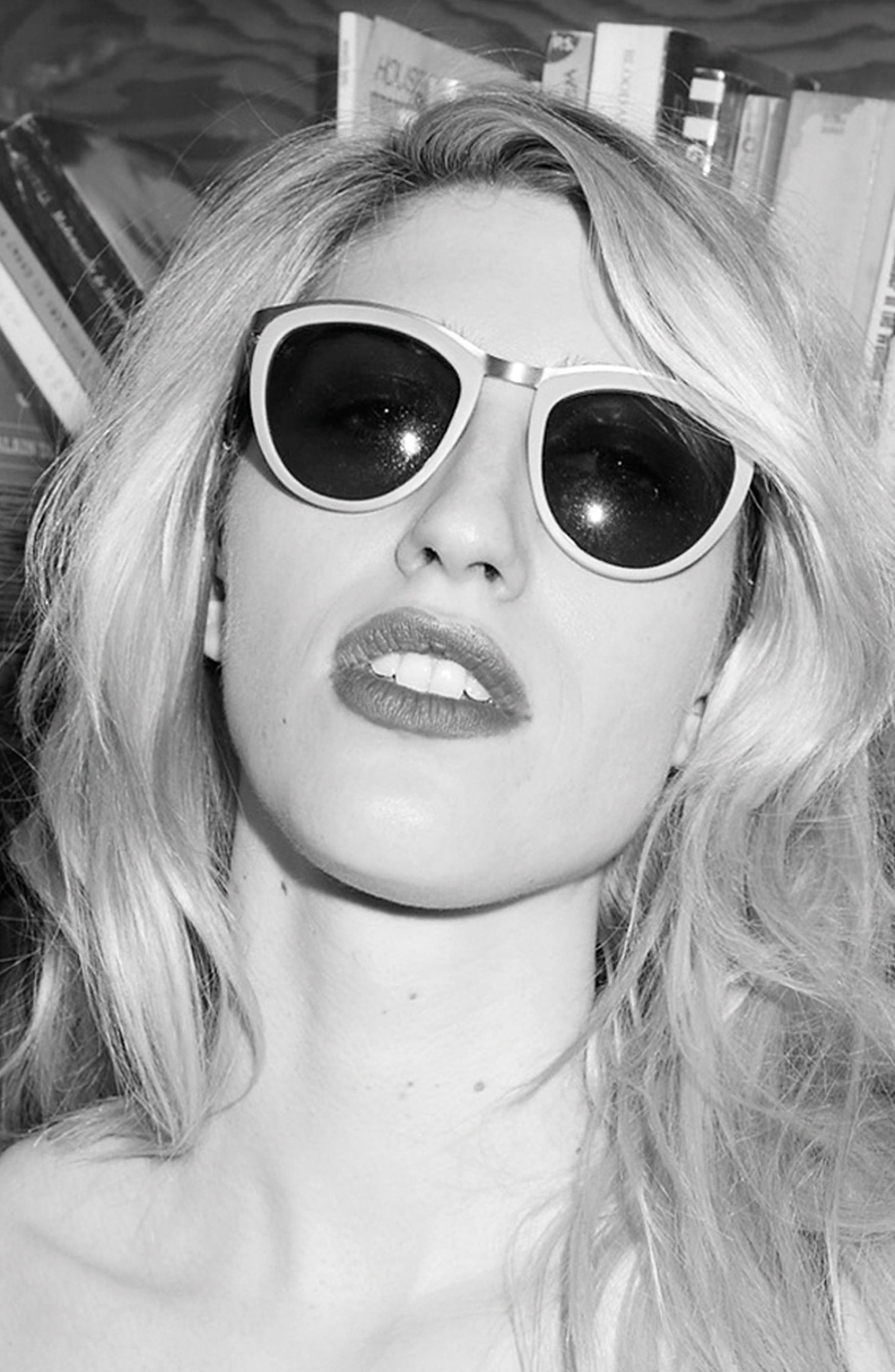 Alternate Image 2  - SMOKE X MIRRORS Comic Strip 51mm Round Sunglasses