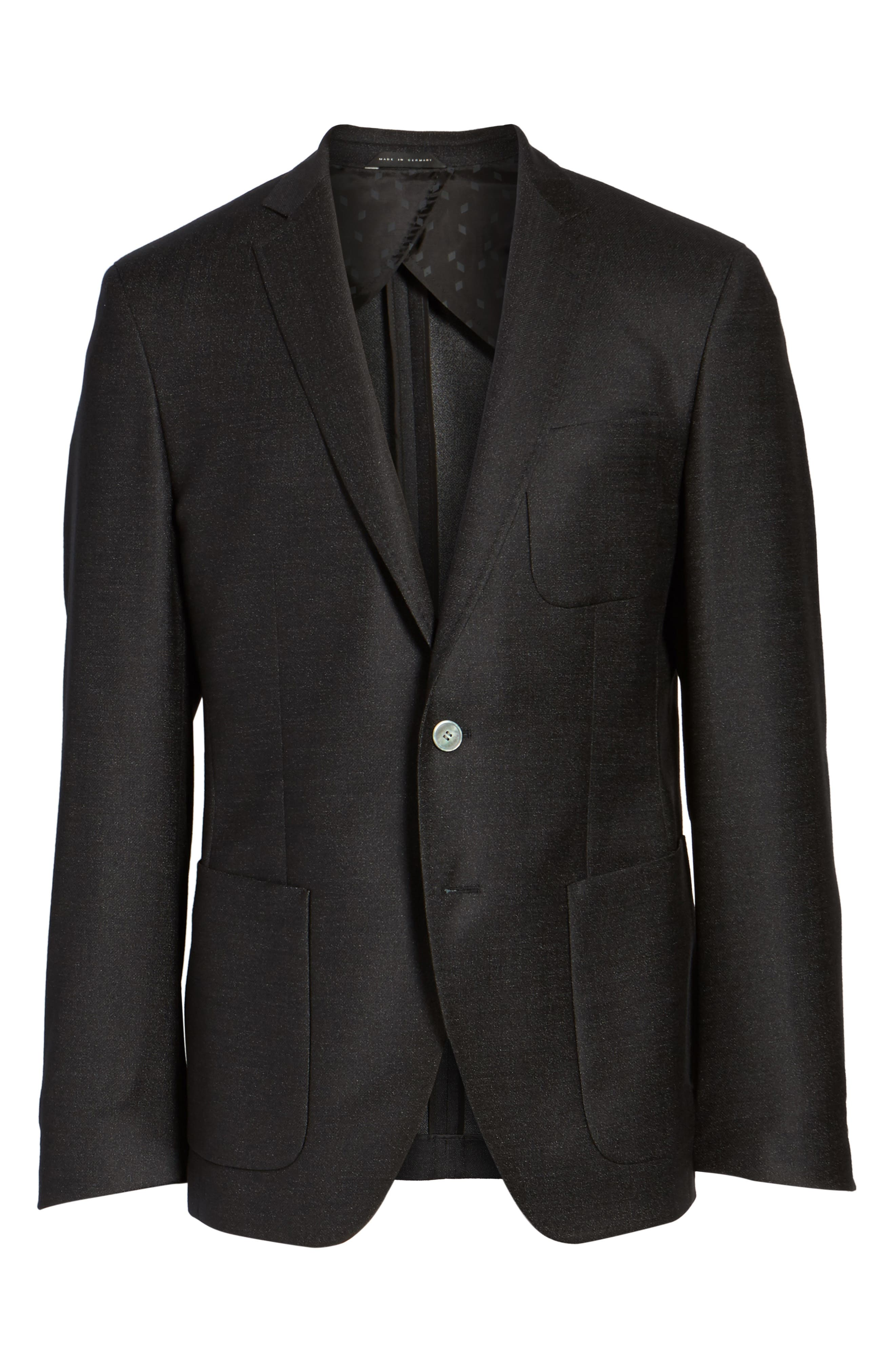 Alternate Image 6  - BOSS Raye Extra Trim Fit Wool Blend Blazer