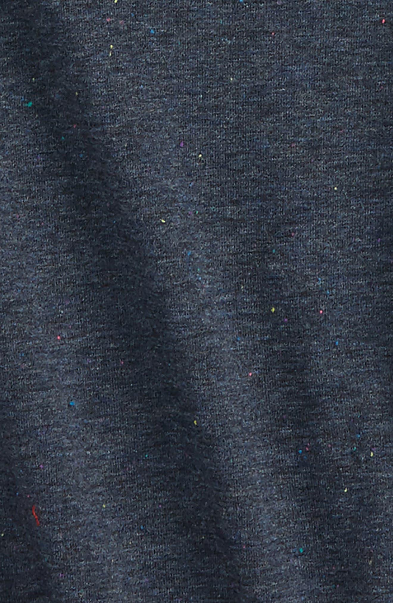Drape Tunic,                             Alternate thumbnail 2, color,                             Blue Indigo Heather