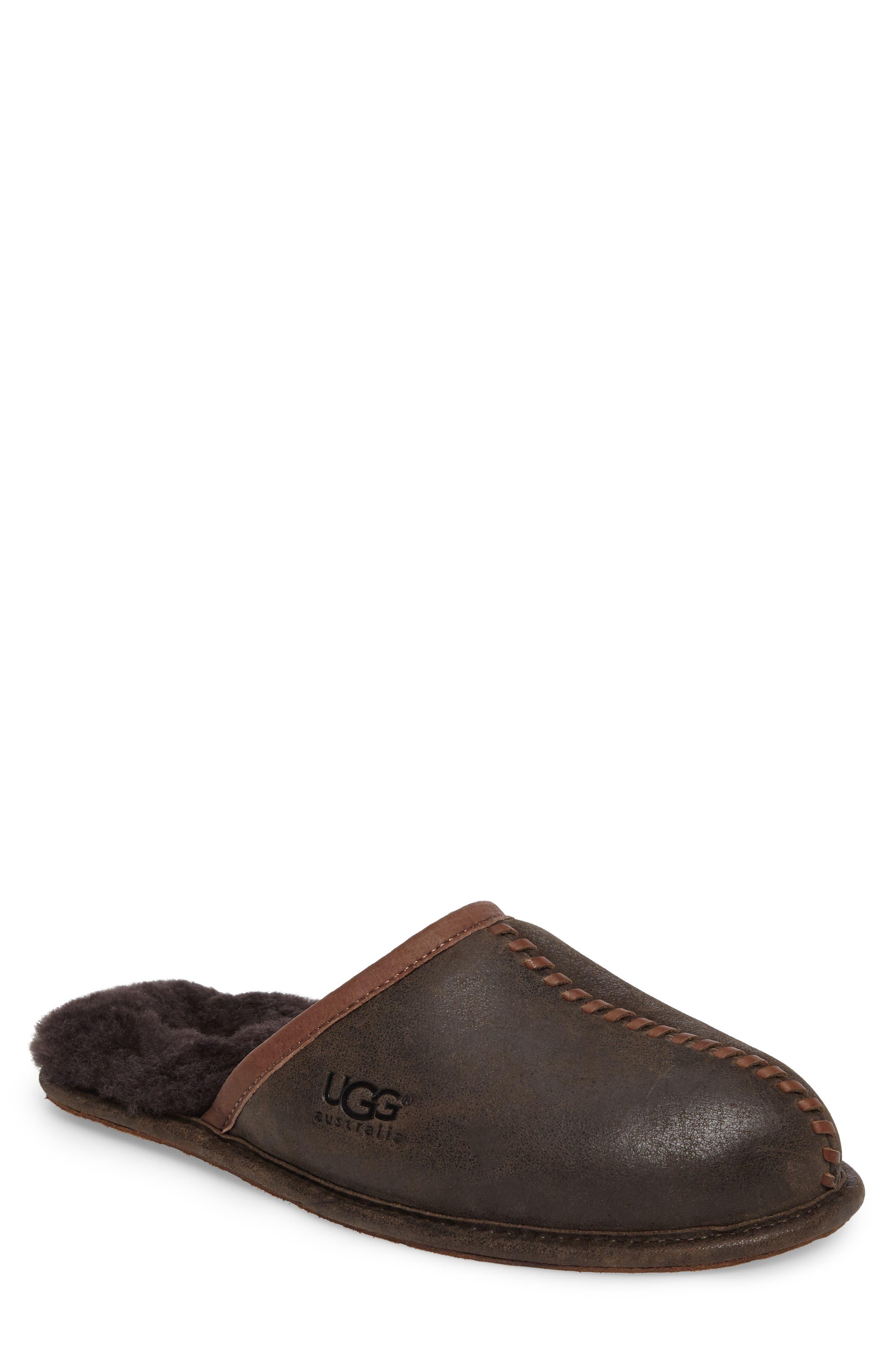 UGG® Scuff - Deco Genuine Shearling Slipper (Men)