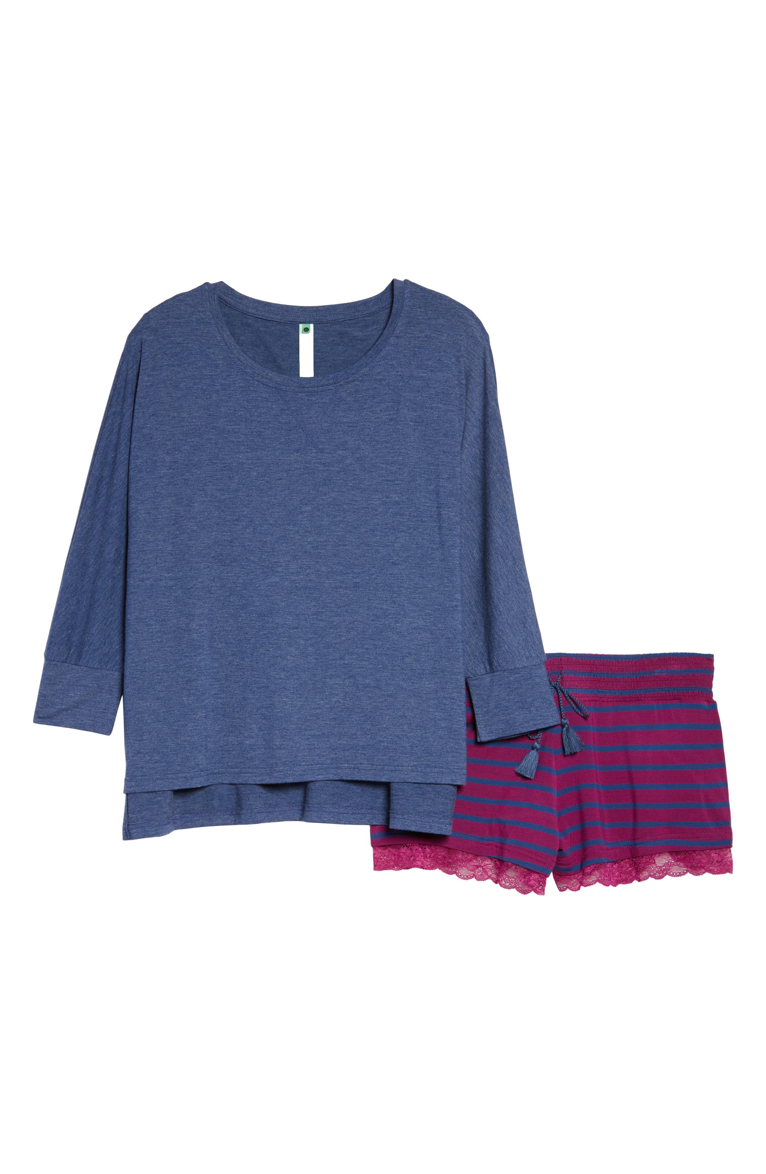 Alternate Image 4  - Honeydew Short Pajamas