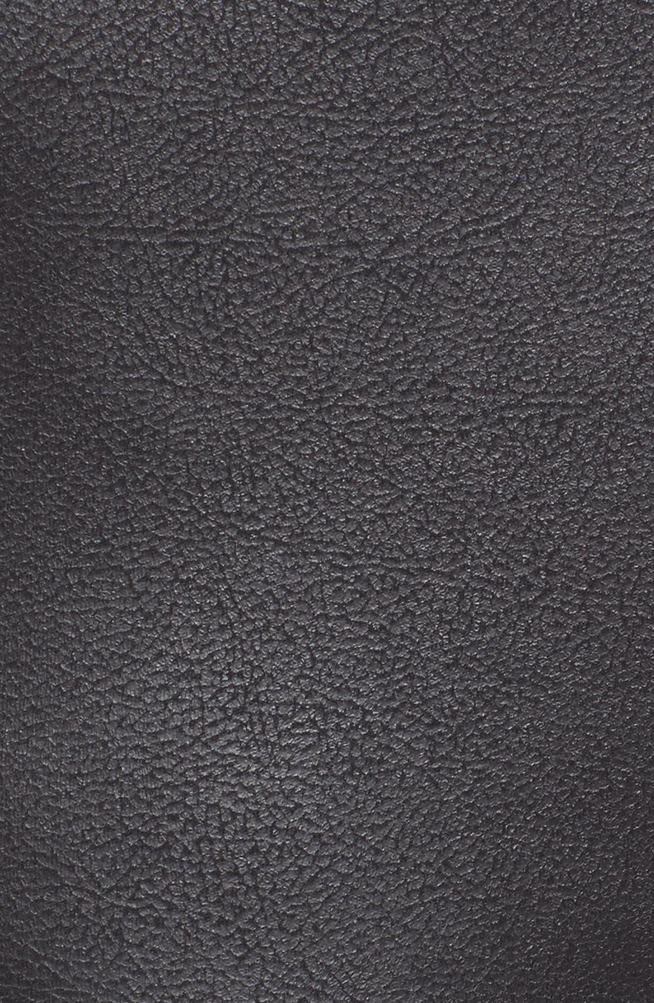 Alternate Image 5  - Trouvé High Waist Faux Leather Leggings