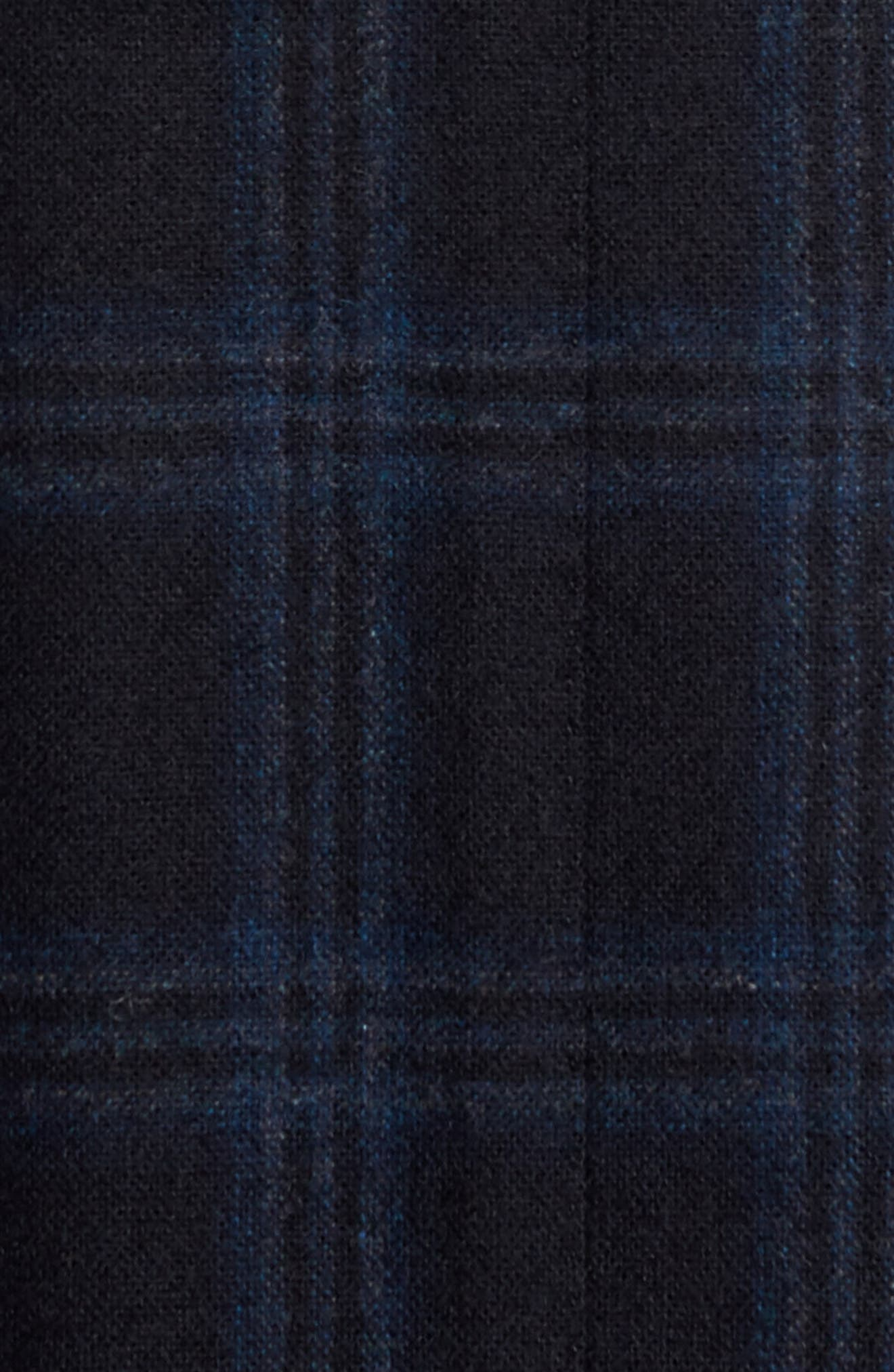 Alternate Image 5  - FLYNT Classic Fit Windowpane Wool & Cashmere Jersey Sport Coat