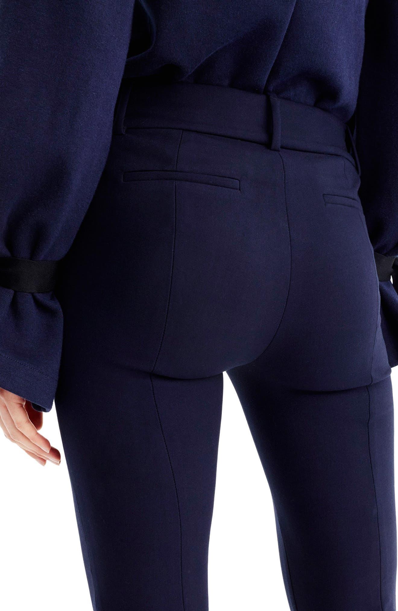 Alternate Image 2  - J.Crew Cameron Four Season Crop Pants (Regular & Petite)