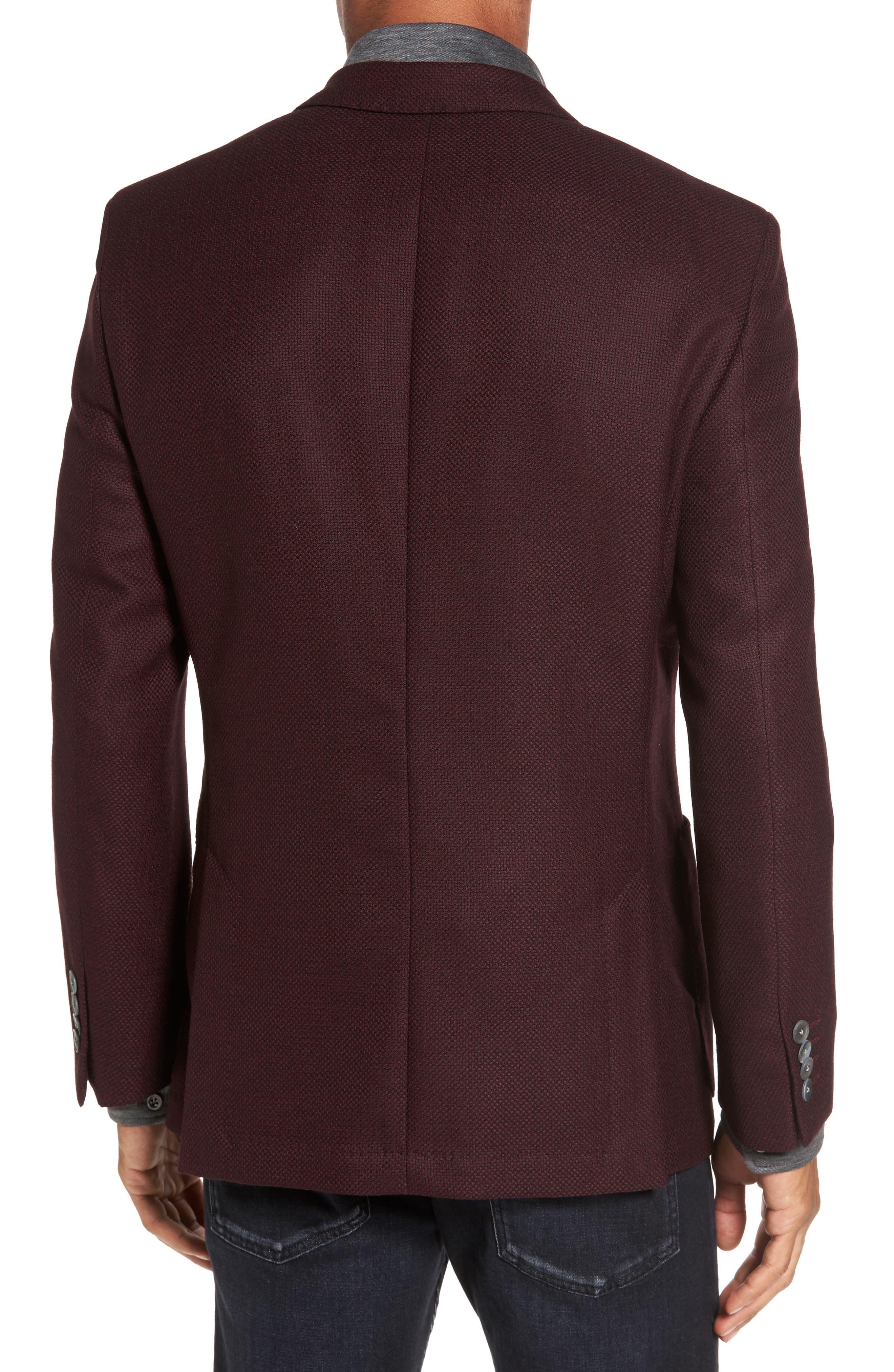 Alternate Image 2  - BOSS Janson Trim Fit Wool Blazer