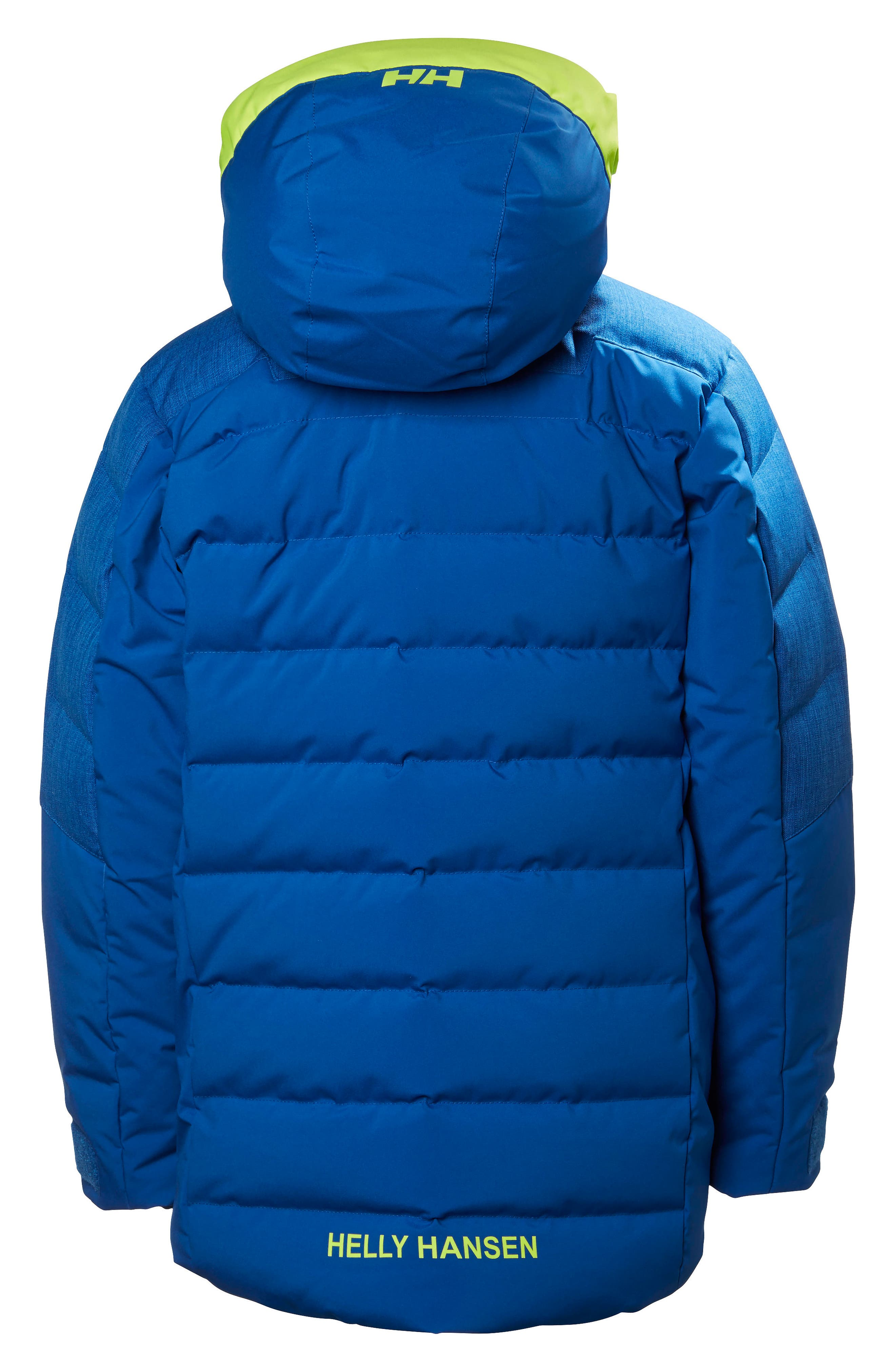 Jr. North Waterproof & Windproof 480-Fill Power Down Jacket,                             Alternate thumbnail 2, color,                             Olympian Blue