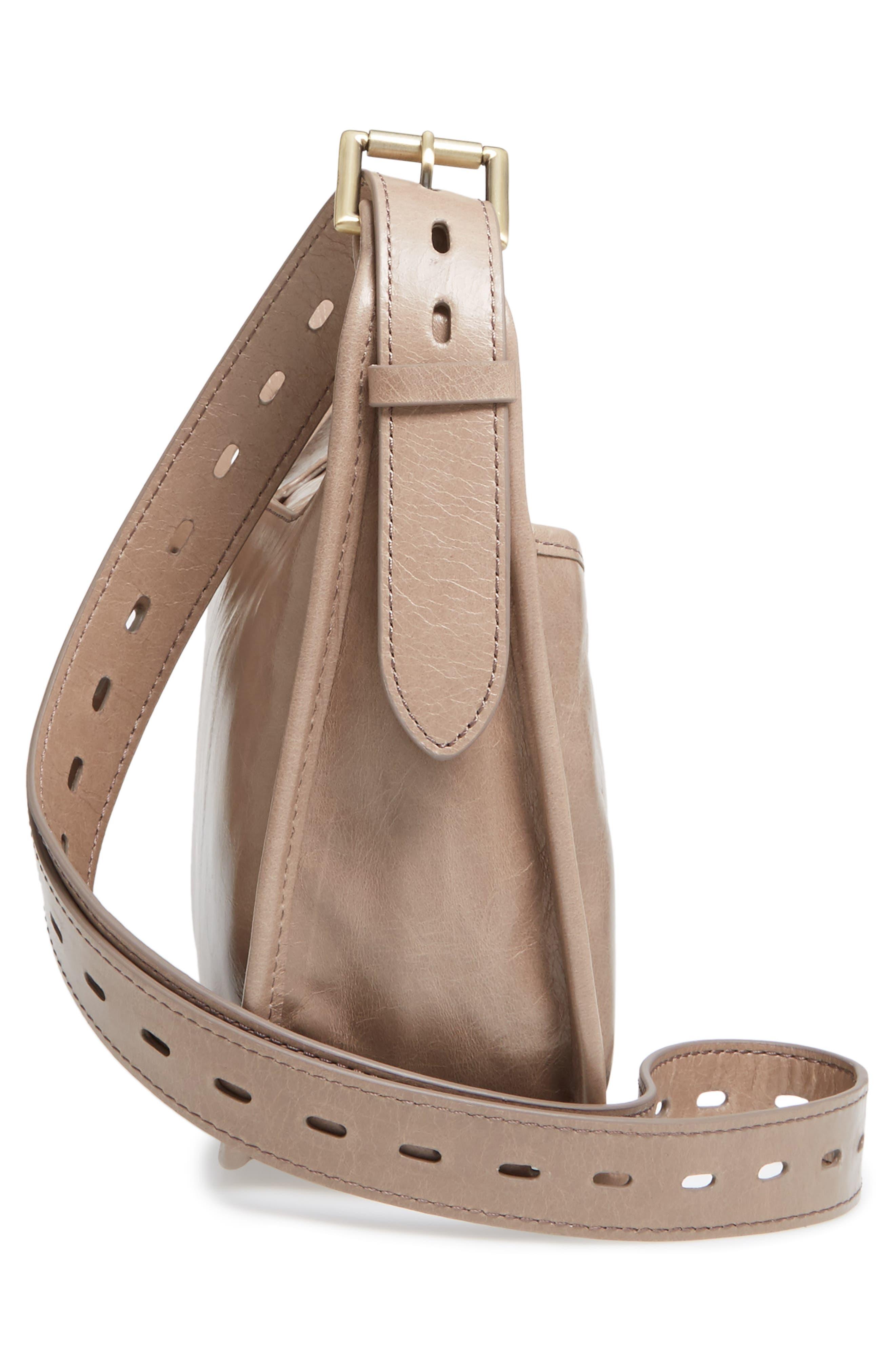 Alternate Image 4  - Hobo Chase Calfskin Leather Crossbody Bag