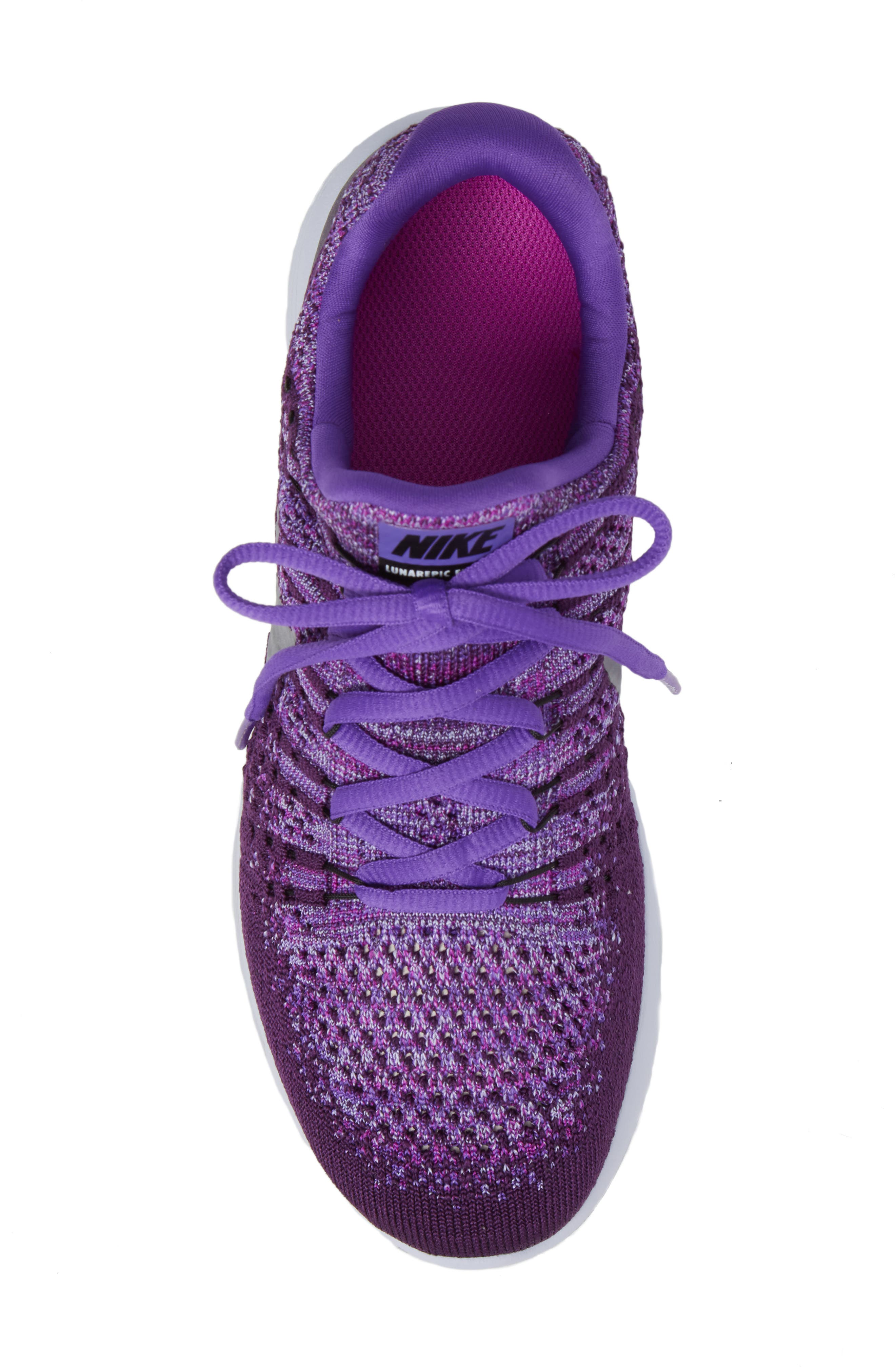 Alternate Image 5  - Nike Flyknit LunarEpic Sneaker (Big Kid)