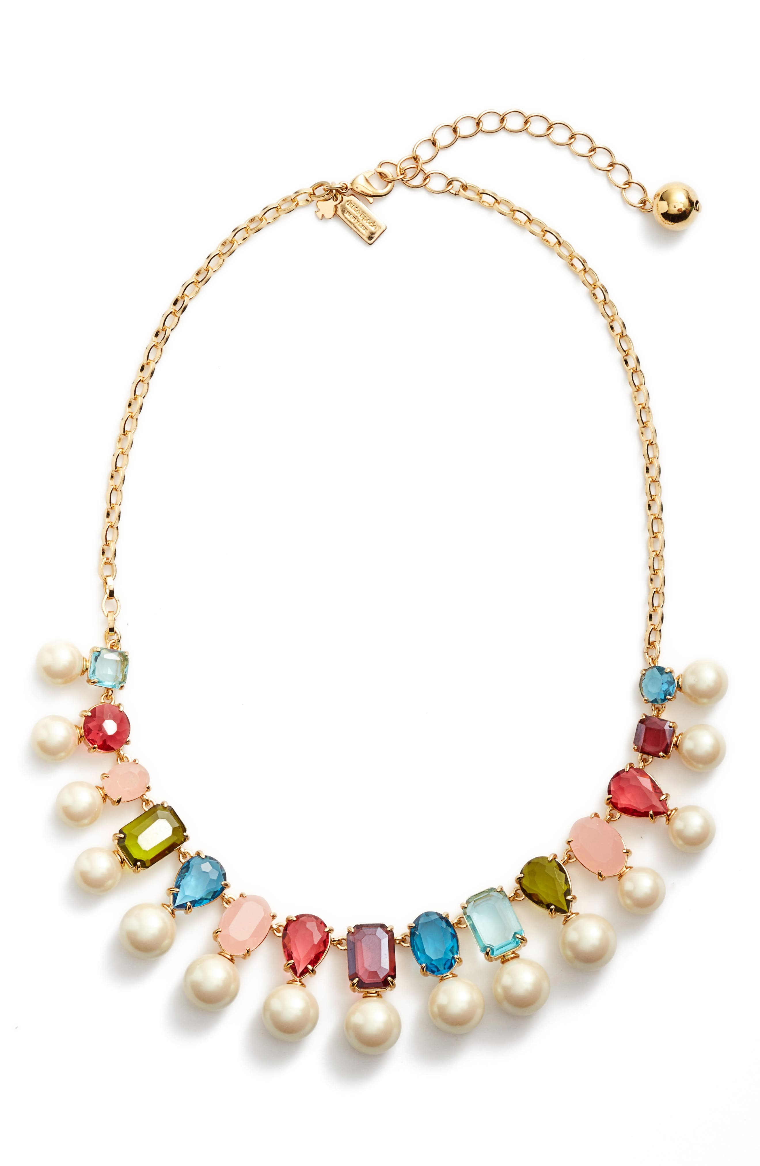 a new hue collar necklace,                         Main,                         color, Gold Multi