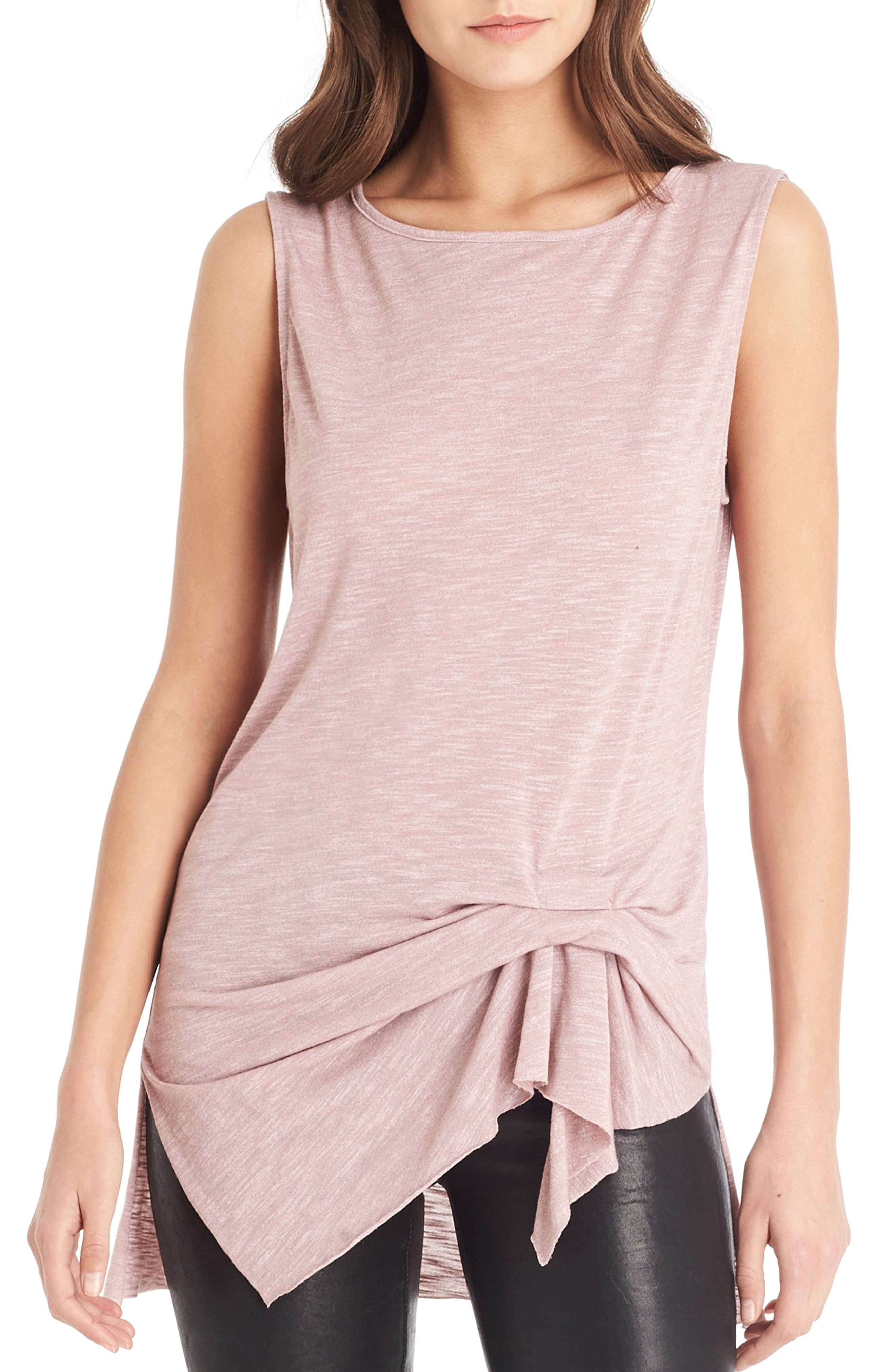 Alternate Image 1 Selected - Michael Stars Pleat Detail Tank