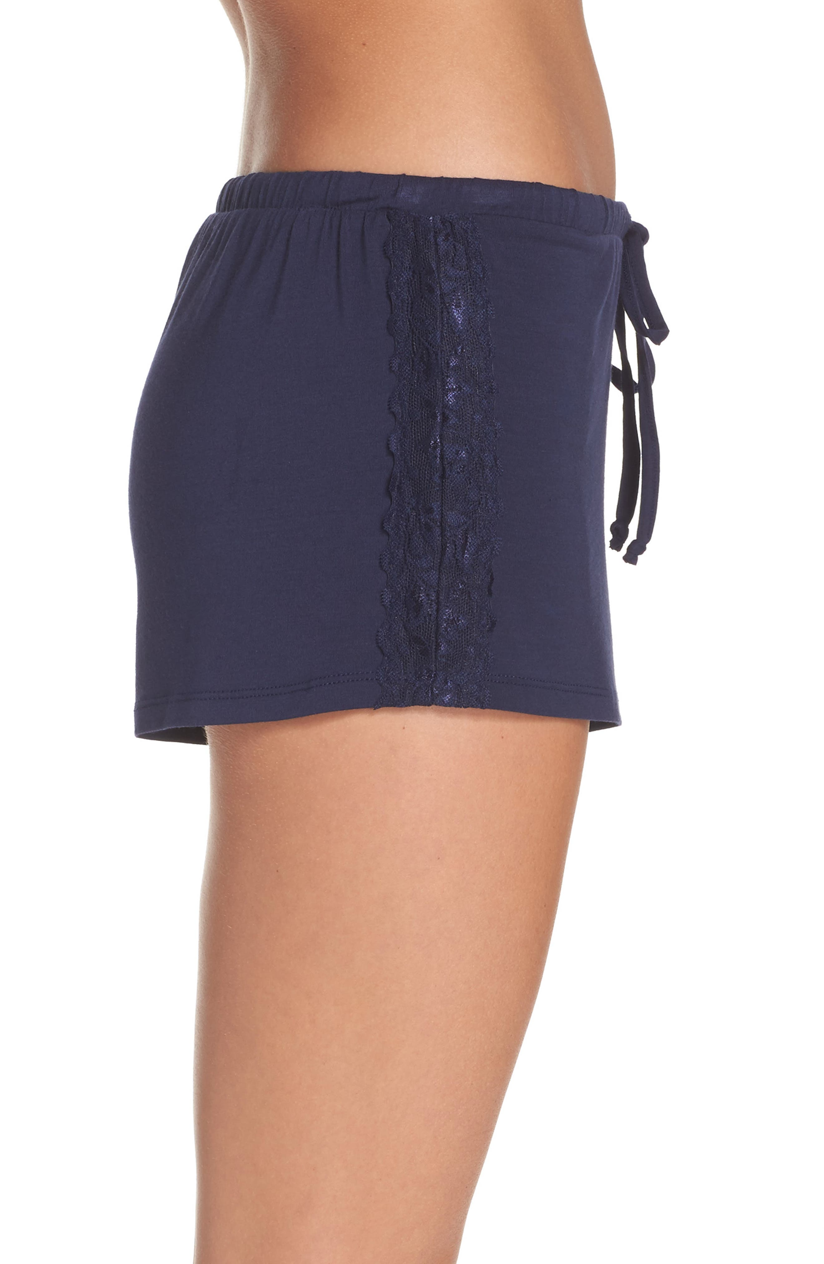 Lounge Shorts,                             Alternate thumbnail 3, color,                             Navy