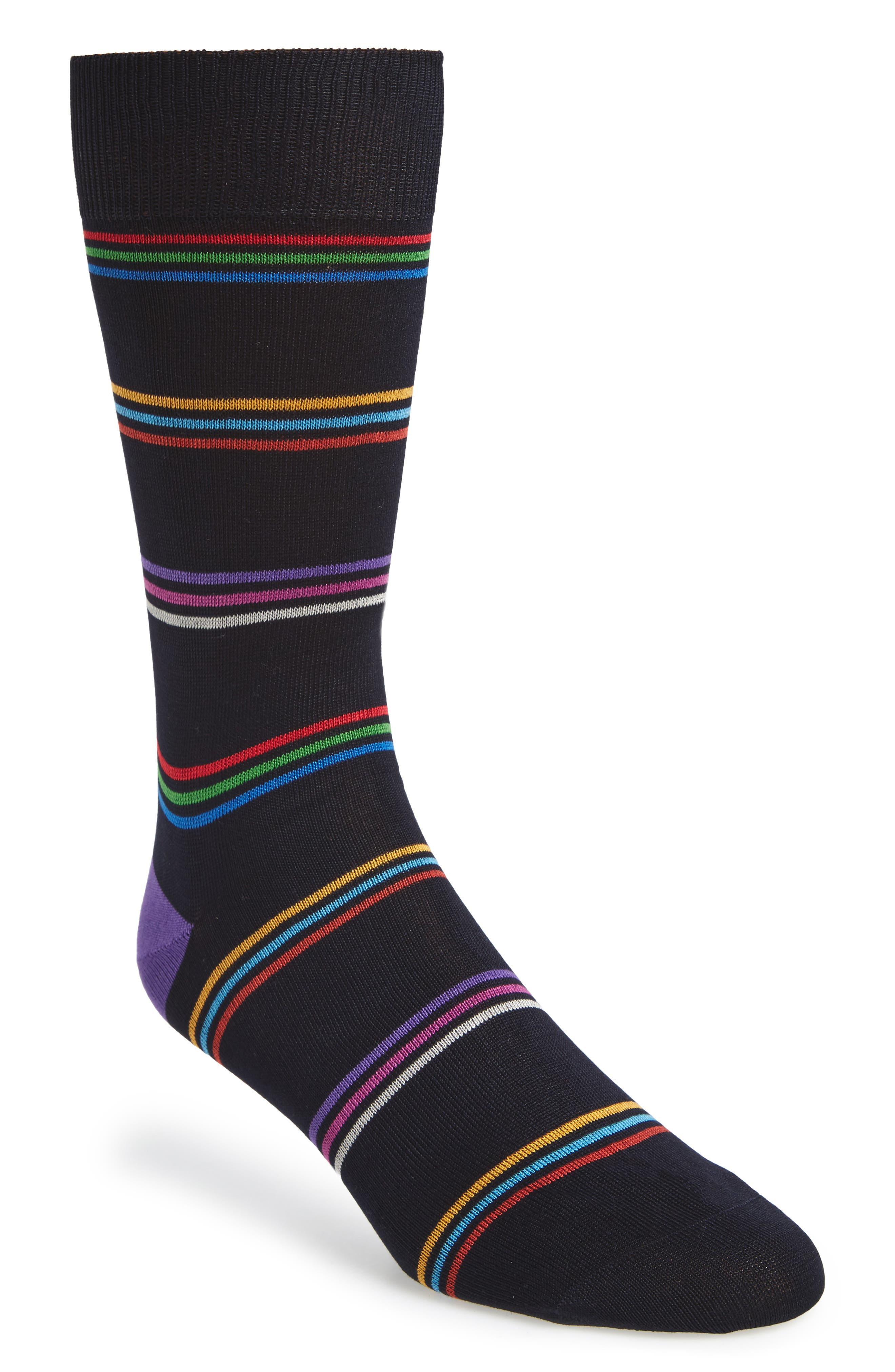 Paul Smith Blah Blah Blah Stripe Socks
