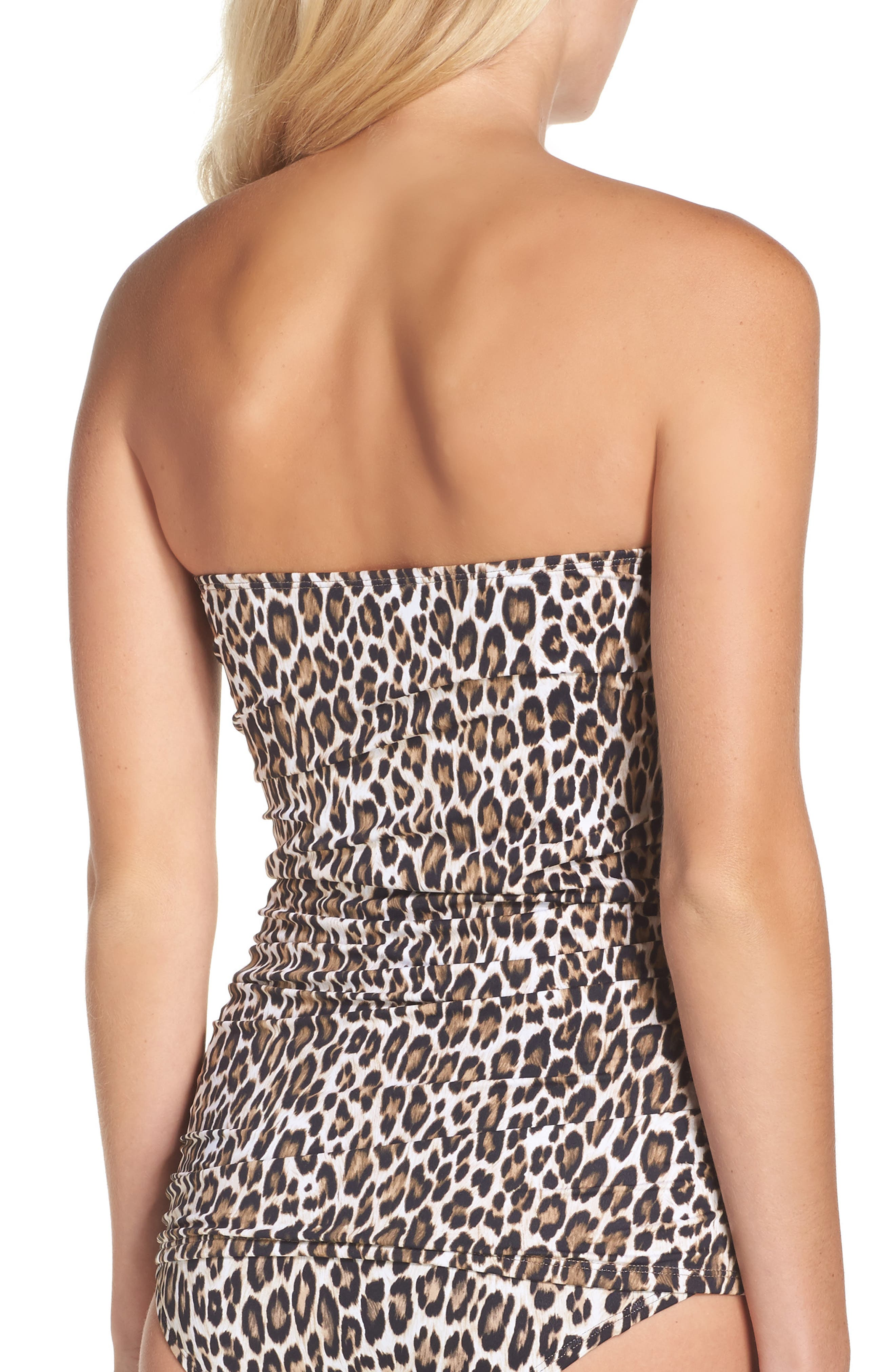 Cat's Meow Twist Tankini,                             Alternate thumbnail 2, color,                             Handlewood