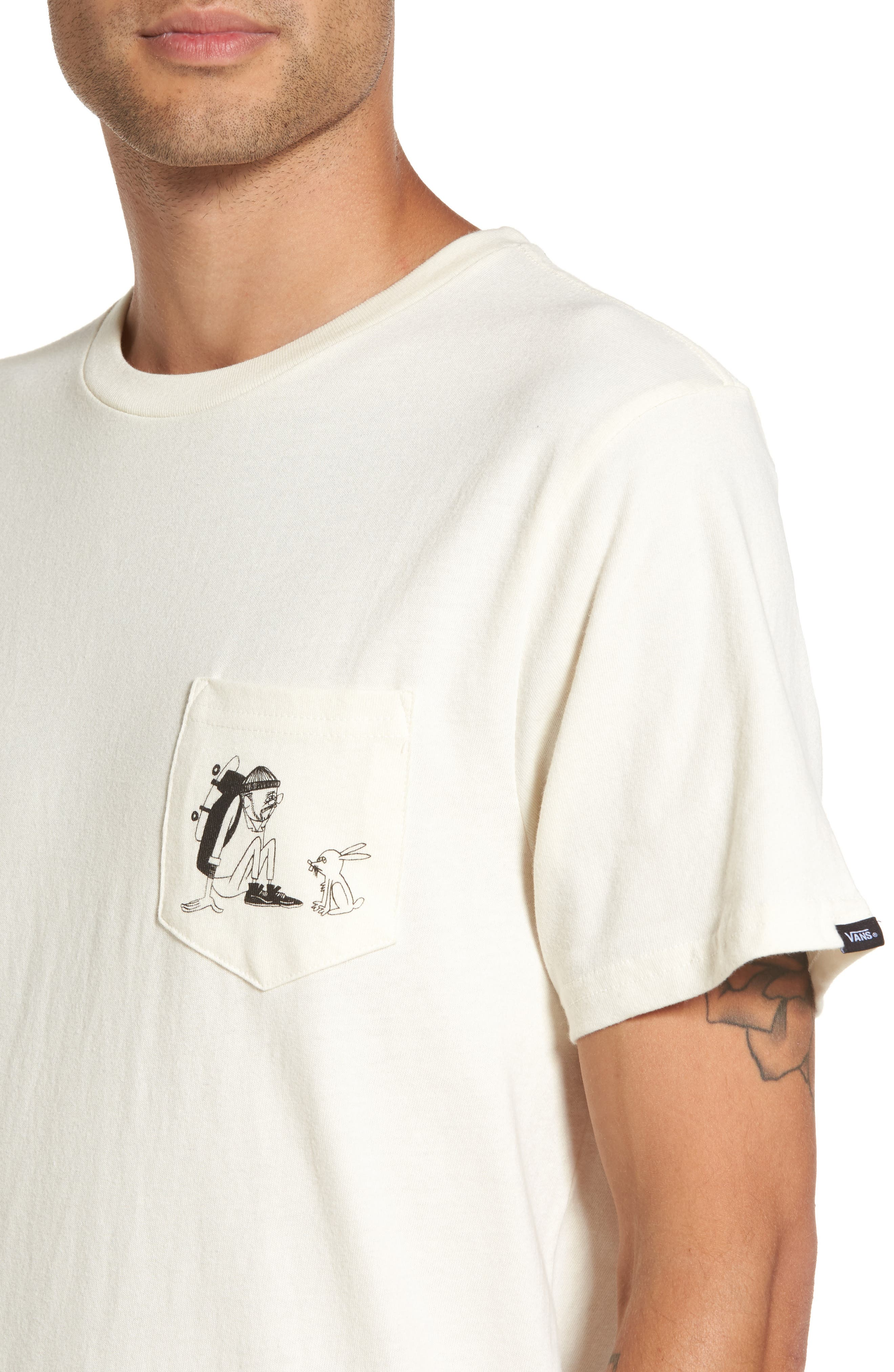 Alternate Image 4  - Vans x Yusuke Hanai Outdoors Graphic Pocket T-Shirt