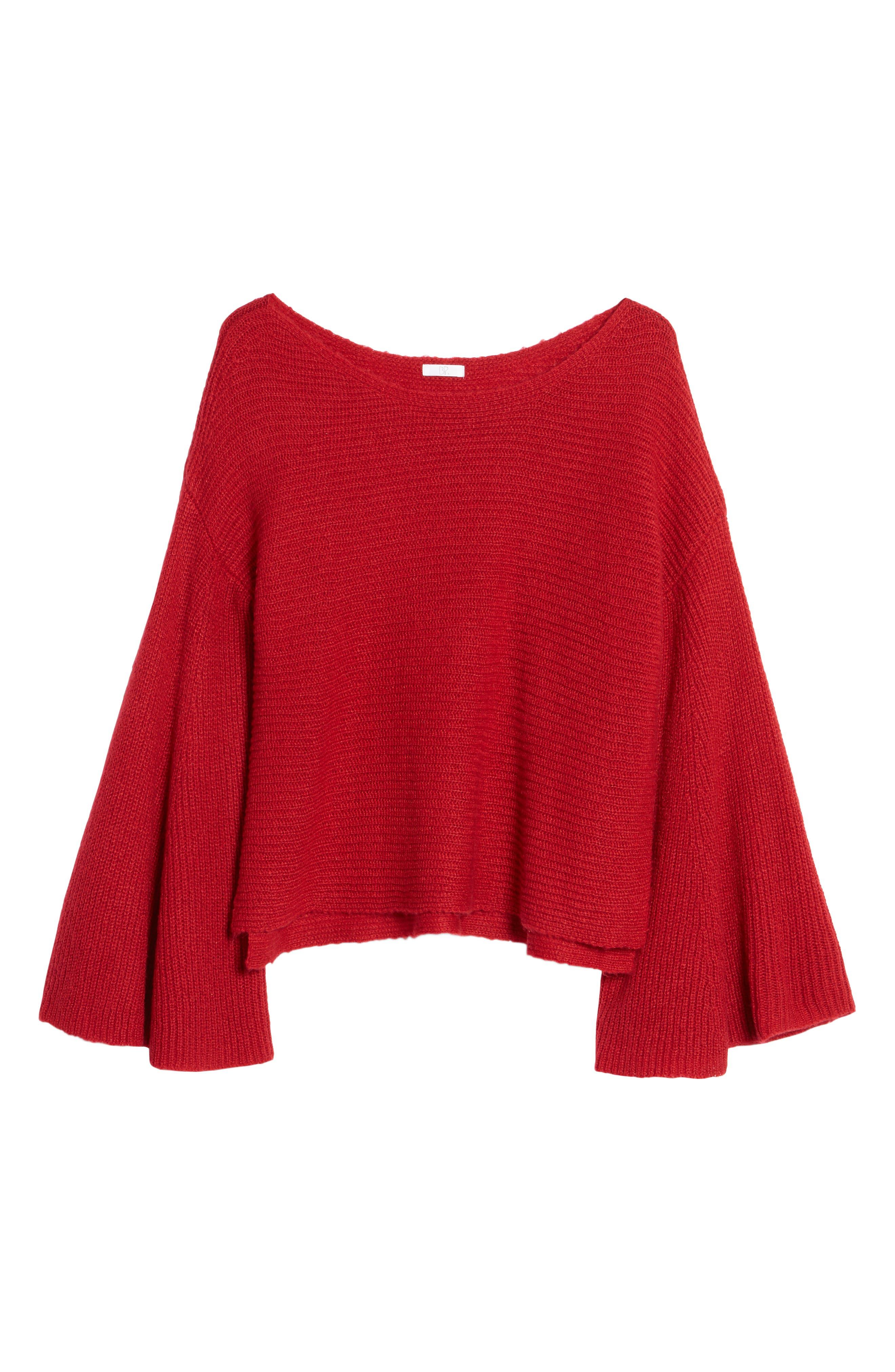 Alternate Image 4  - BP. Flare Sleeve Sweater