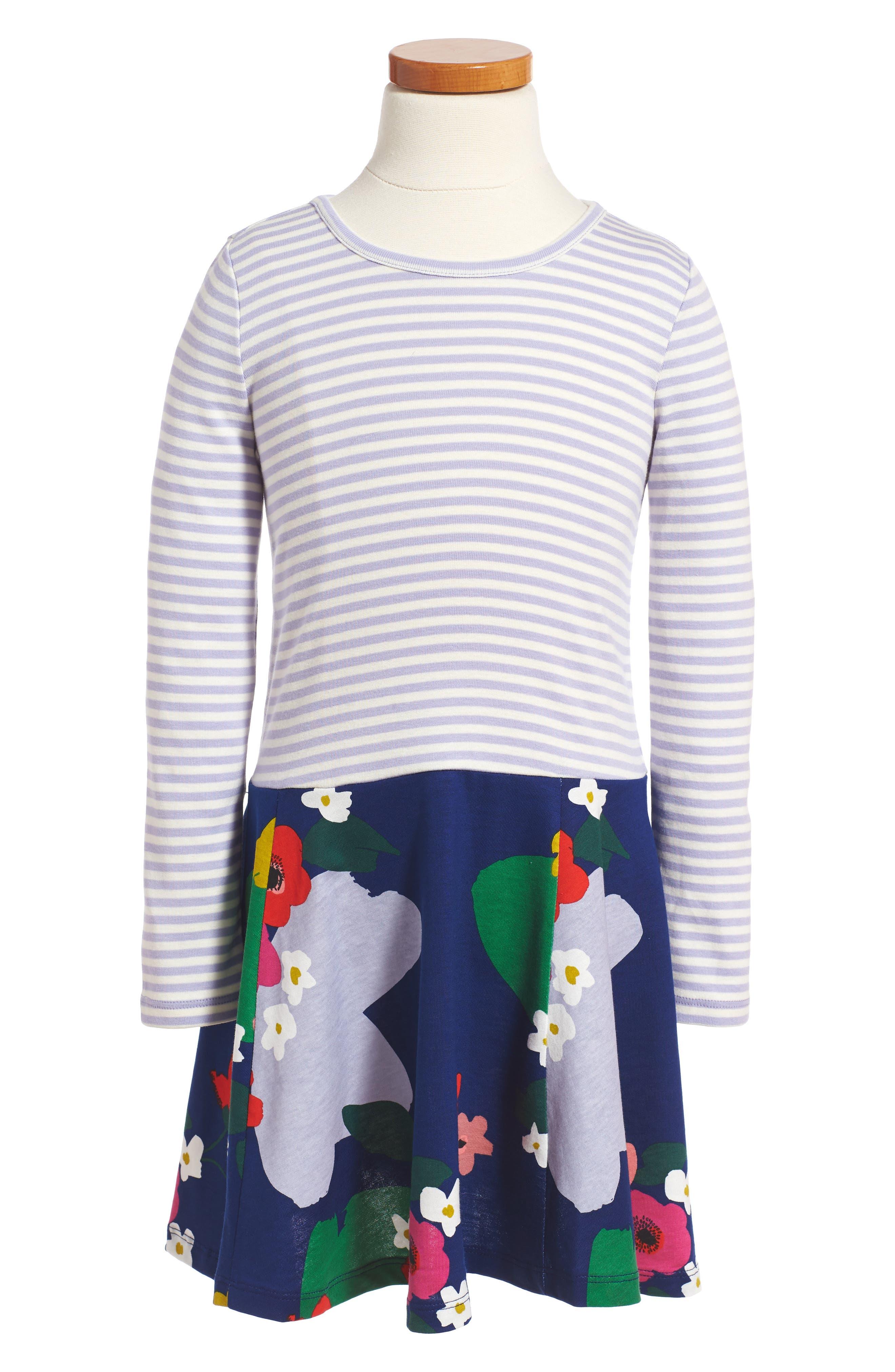 Main Image - Tea Collection Scotland Garden Dress (Toddler Girls, Little Girls & Big Girls)