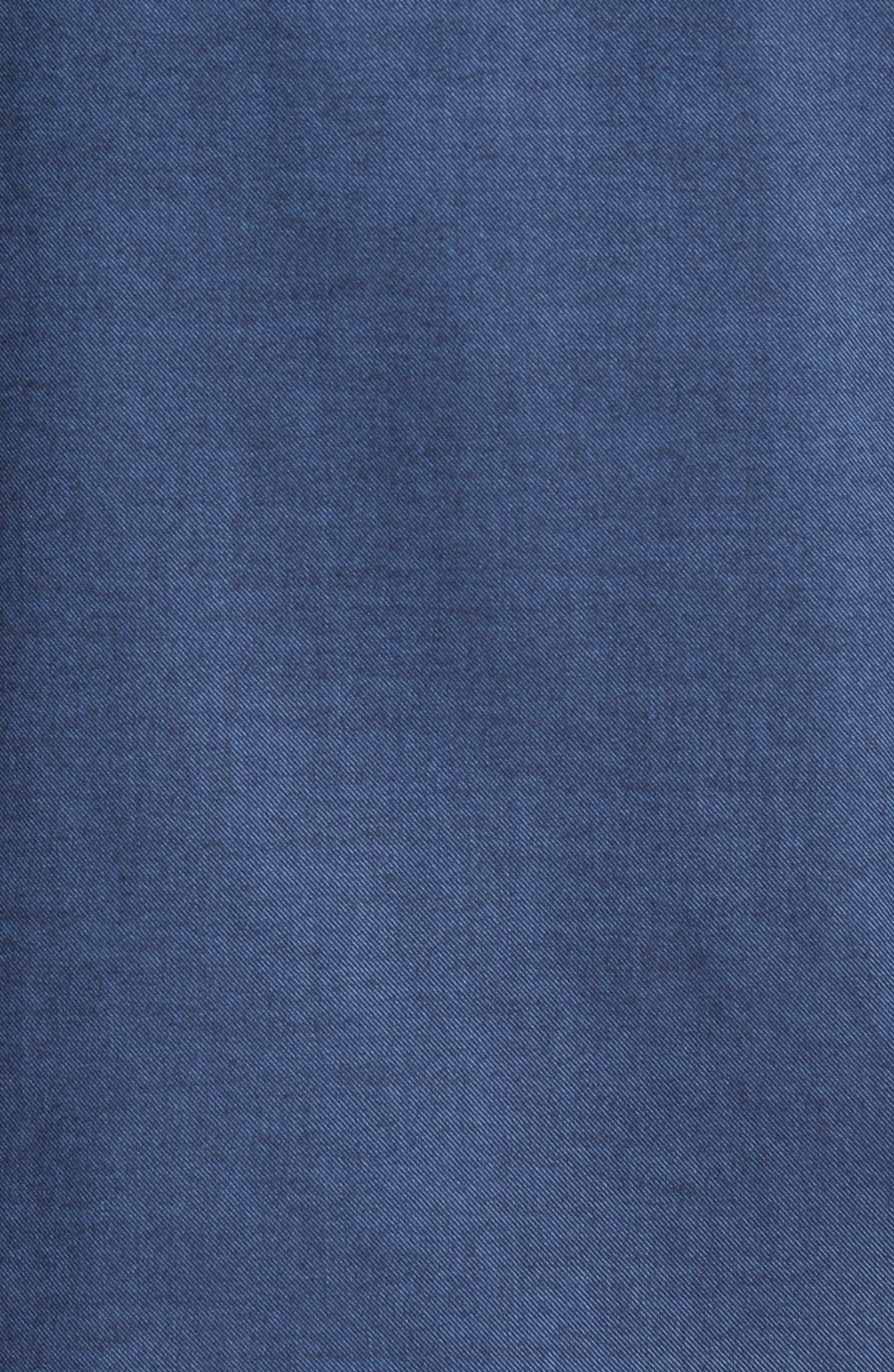 Alternate Image 5  - Jeremy Argyle Slim Fit Solid Sport Shirt