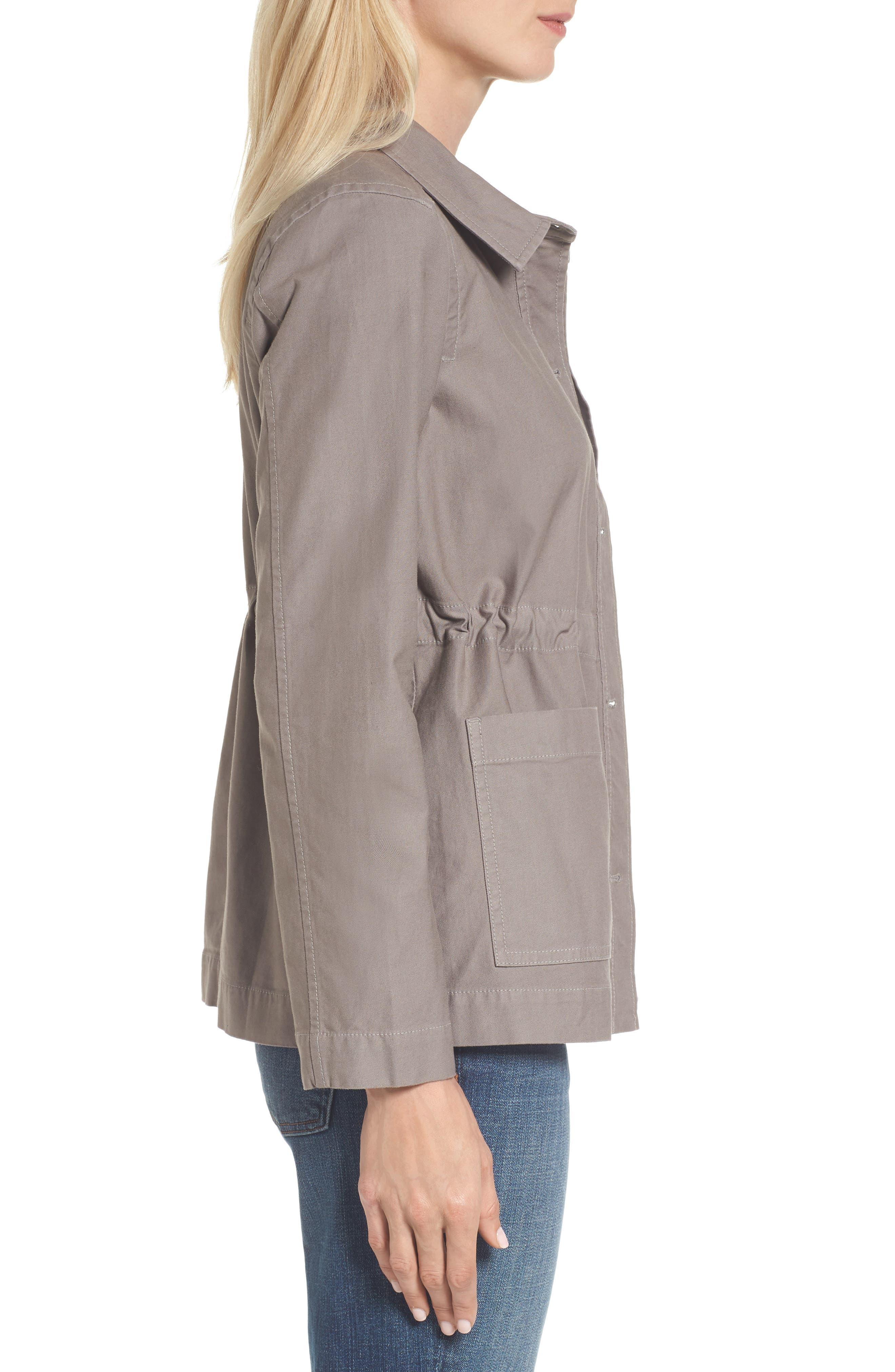 Alternate Image 3  - Eileen Fisher Twill Utility Jacket