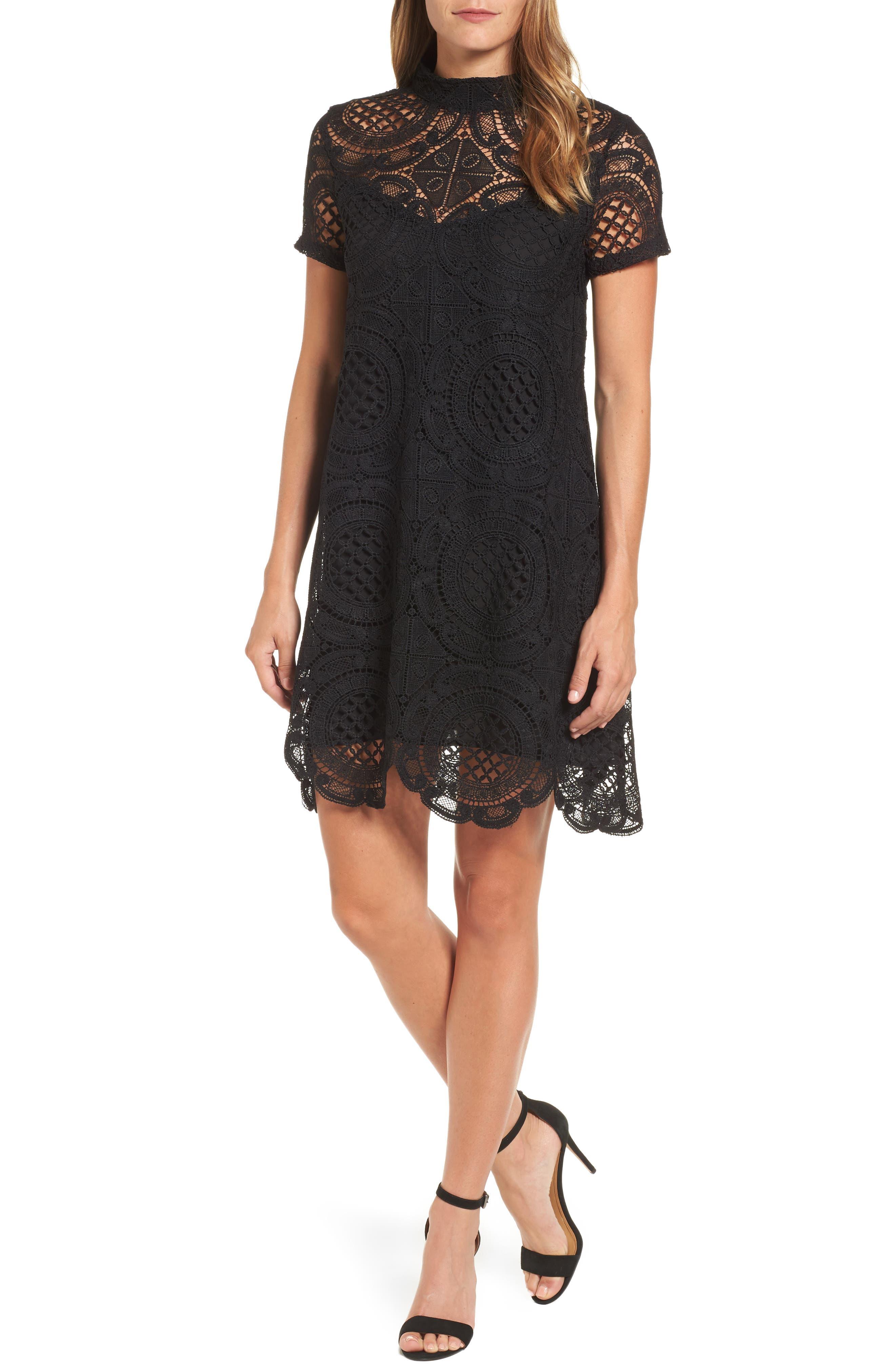 Press A-Line Lace Dress