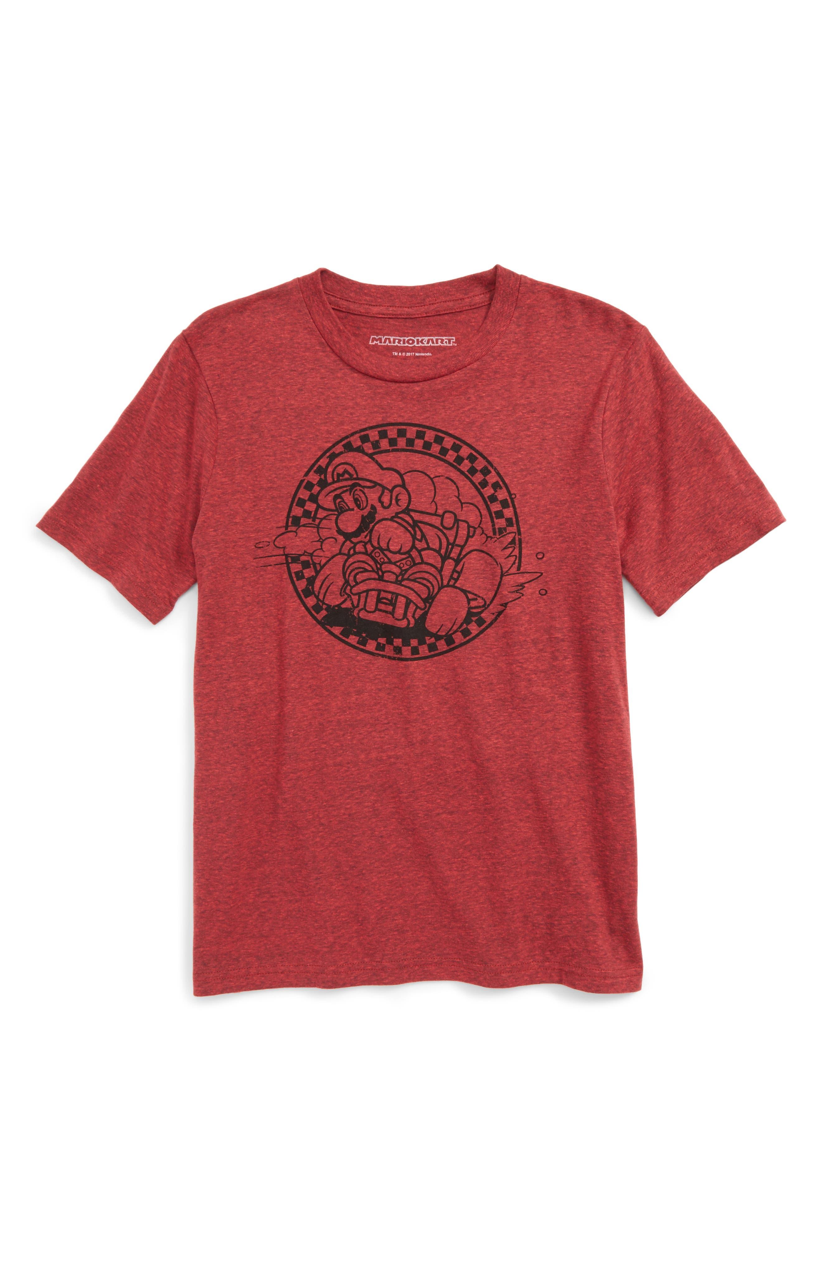 Jem Mario Racer Graphic T-Shirt (Big Boys)