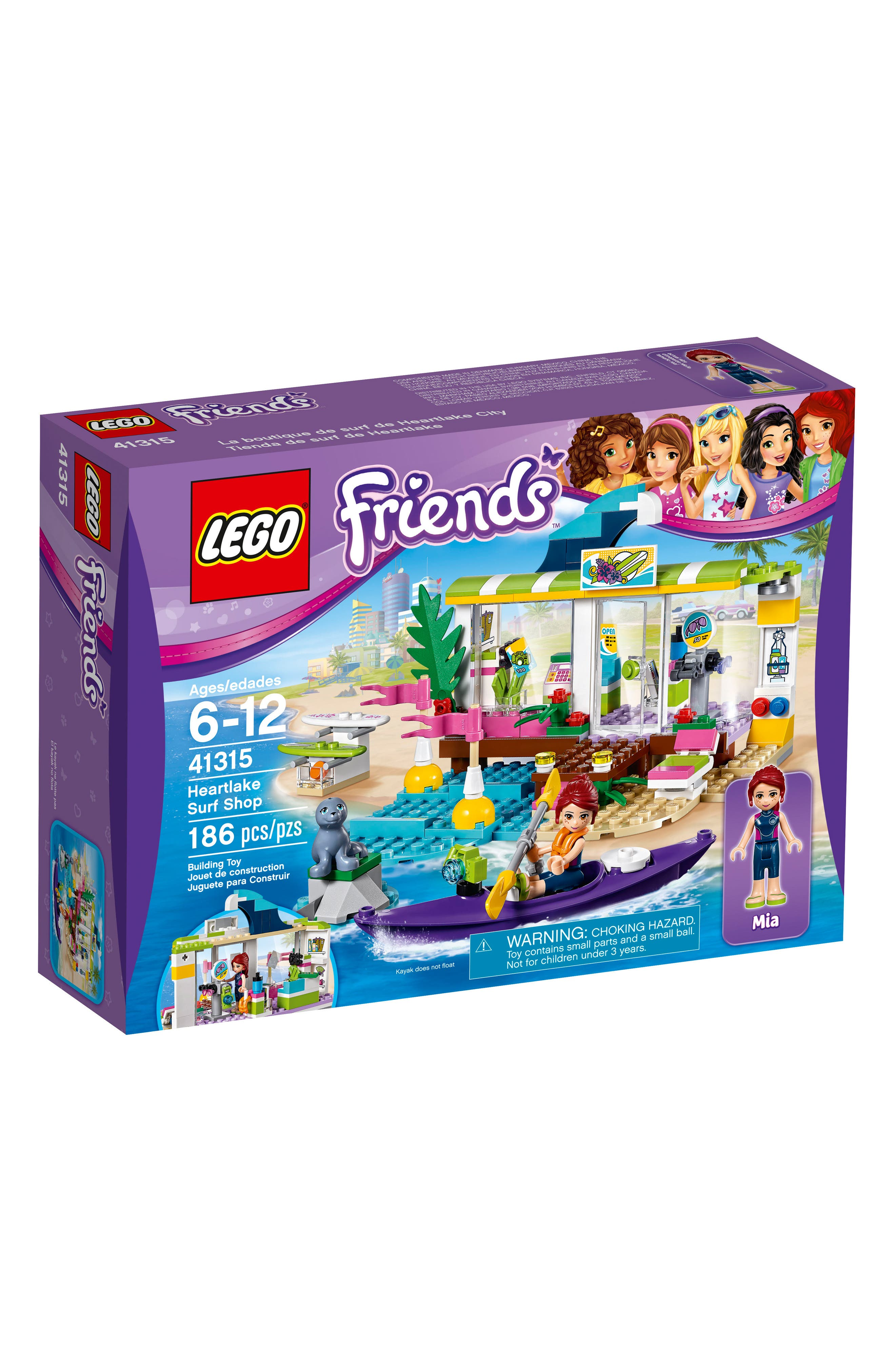 LEGO® Friends Heartlake Surf Shop Play Set - 41315