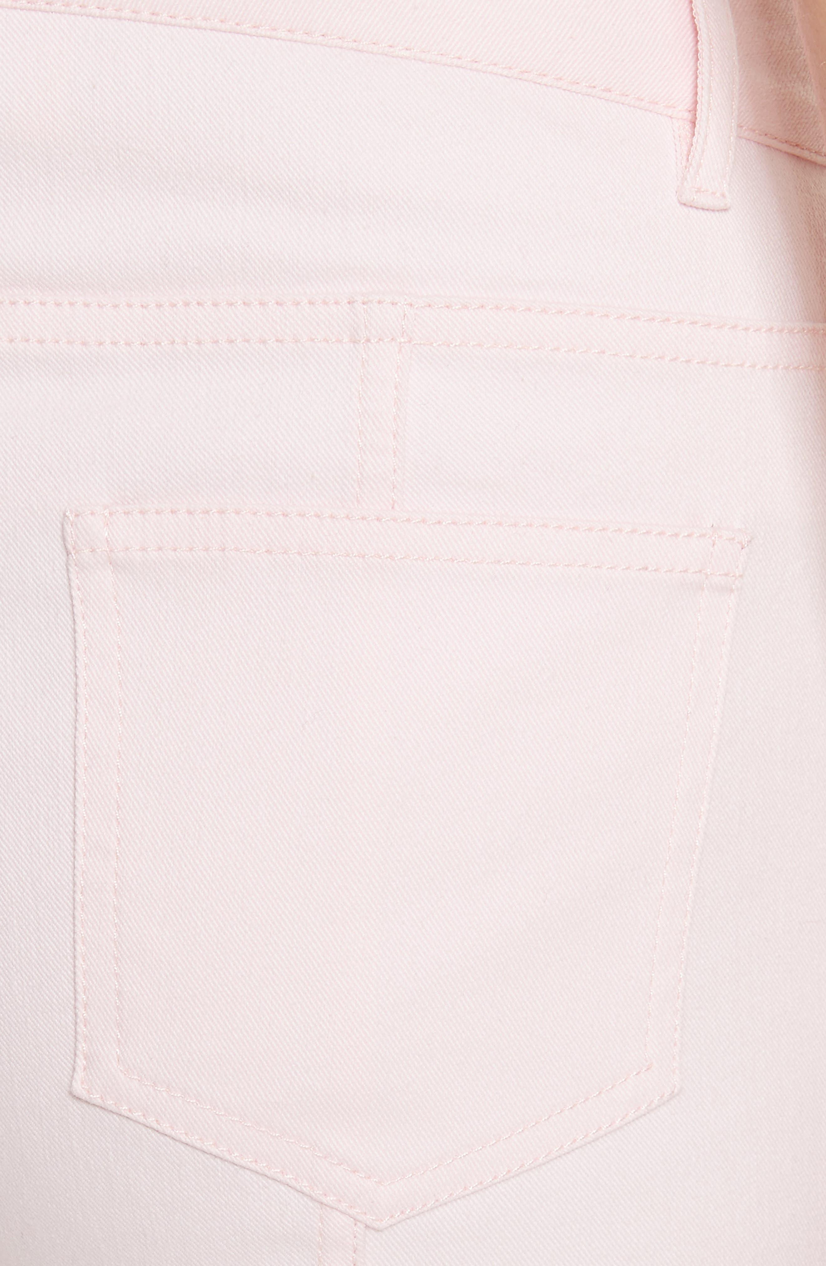 Alternate Image 5  - St. John Collection Bardot Double Dye Stretch Jeans