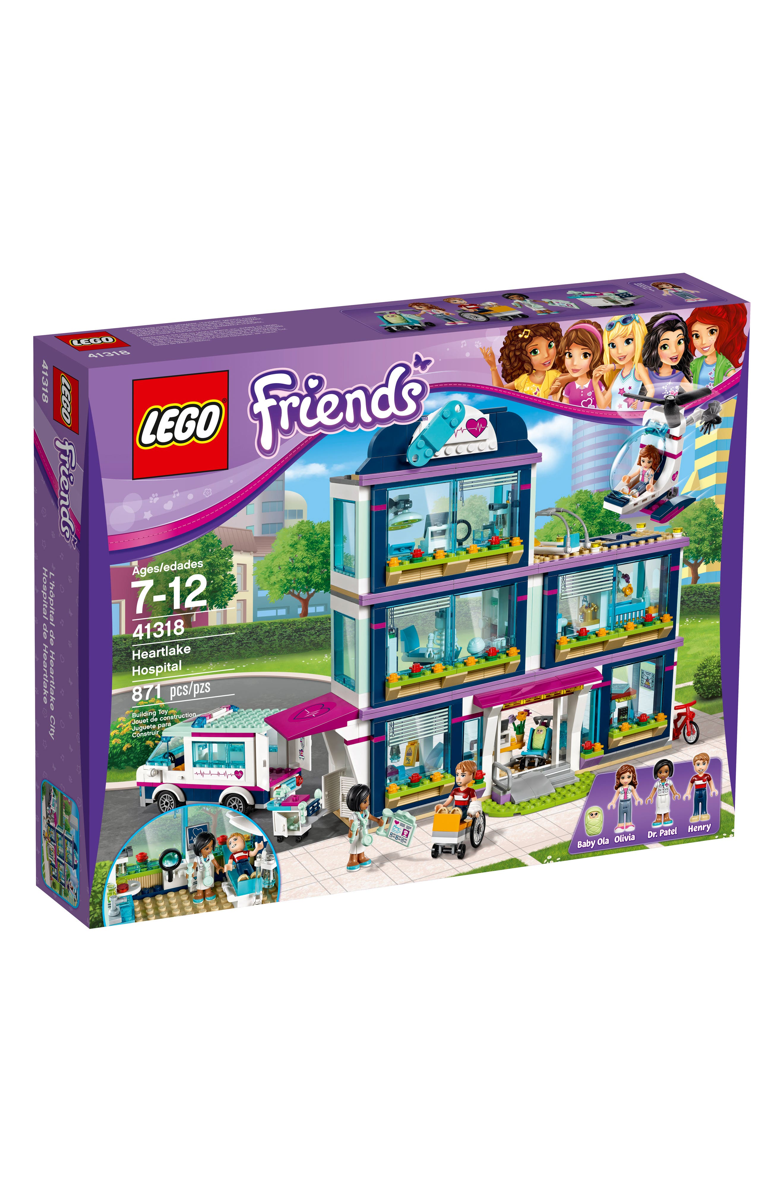 Friends Heartlake Hospital Play Set - 41318,                         Main,                         color, Multi
